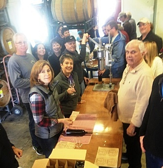 The bottling crew at work!