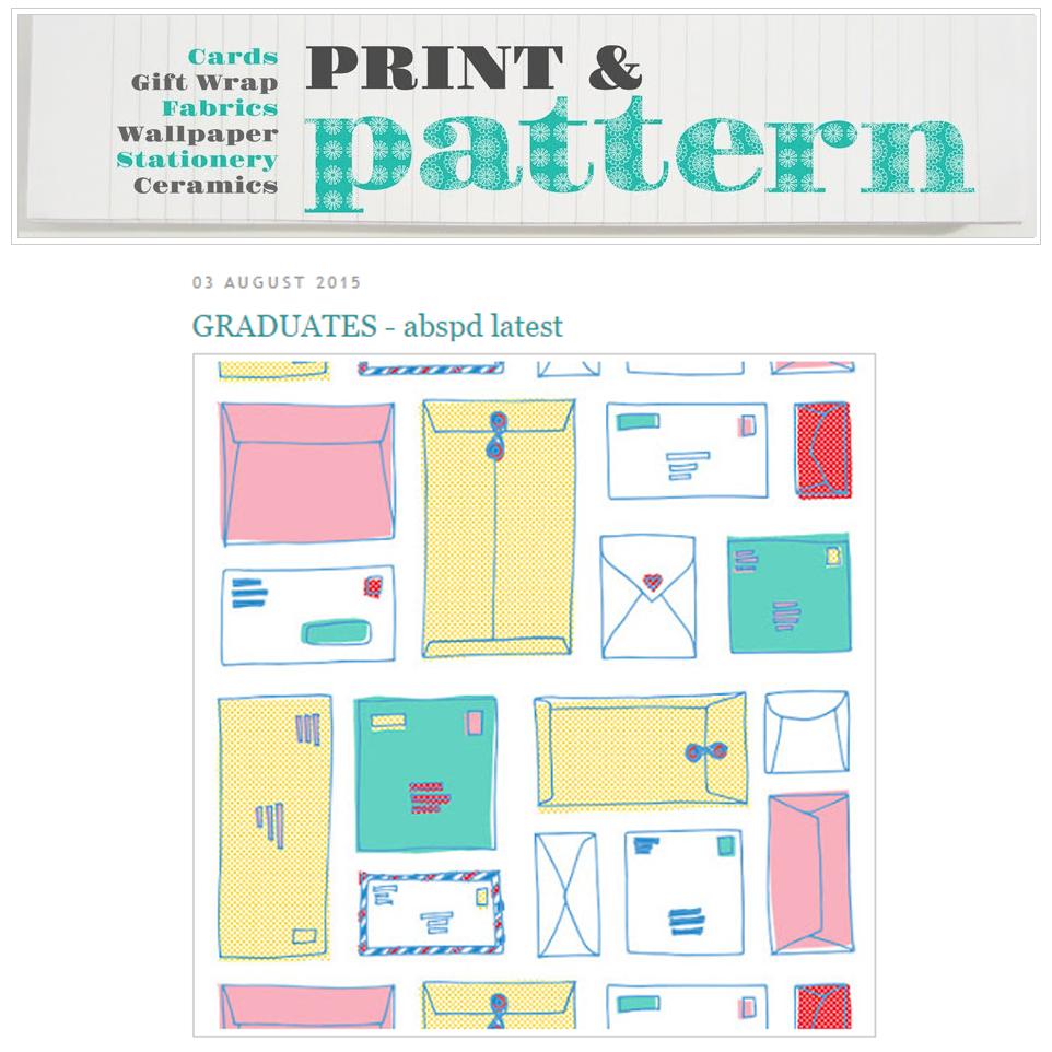 PRINT & PATTERN AUG 3. 2015