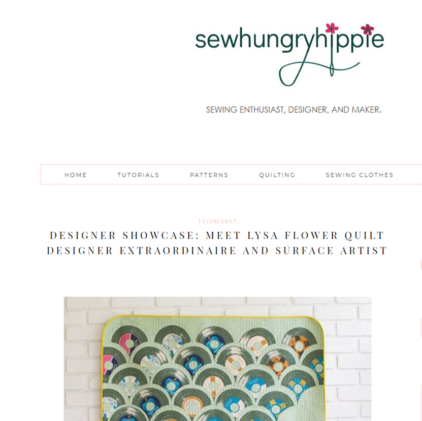 HUNGRY HIPPIE SEWS Nov 20. 2017