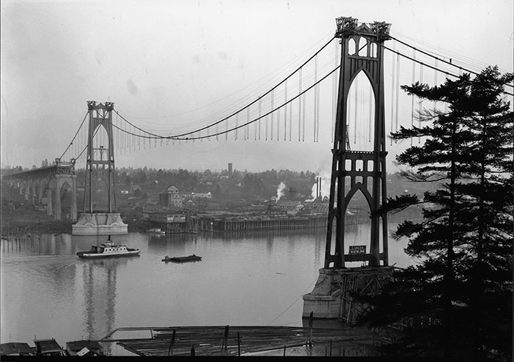 1930 Dec_St Johns Bridge during construction_A2004-002.9145.jpg