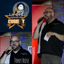 OUR EMCEE FOR THE EVENING - TONY ROSE !!!
