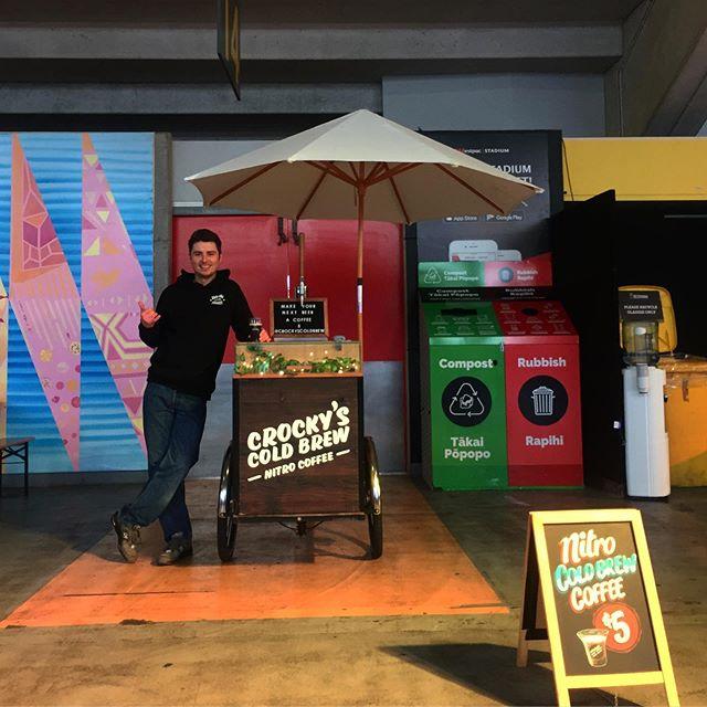 Ready for those #bigpours! Drop in and pop thru for the brew! @beervananz . . #nitrocoldbrew #nitrocoffee #coldbrew #coffeethots #coffeeshots