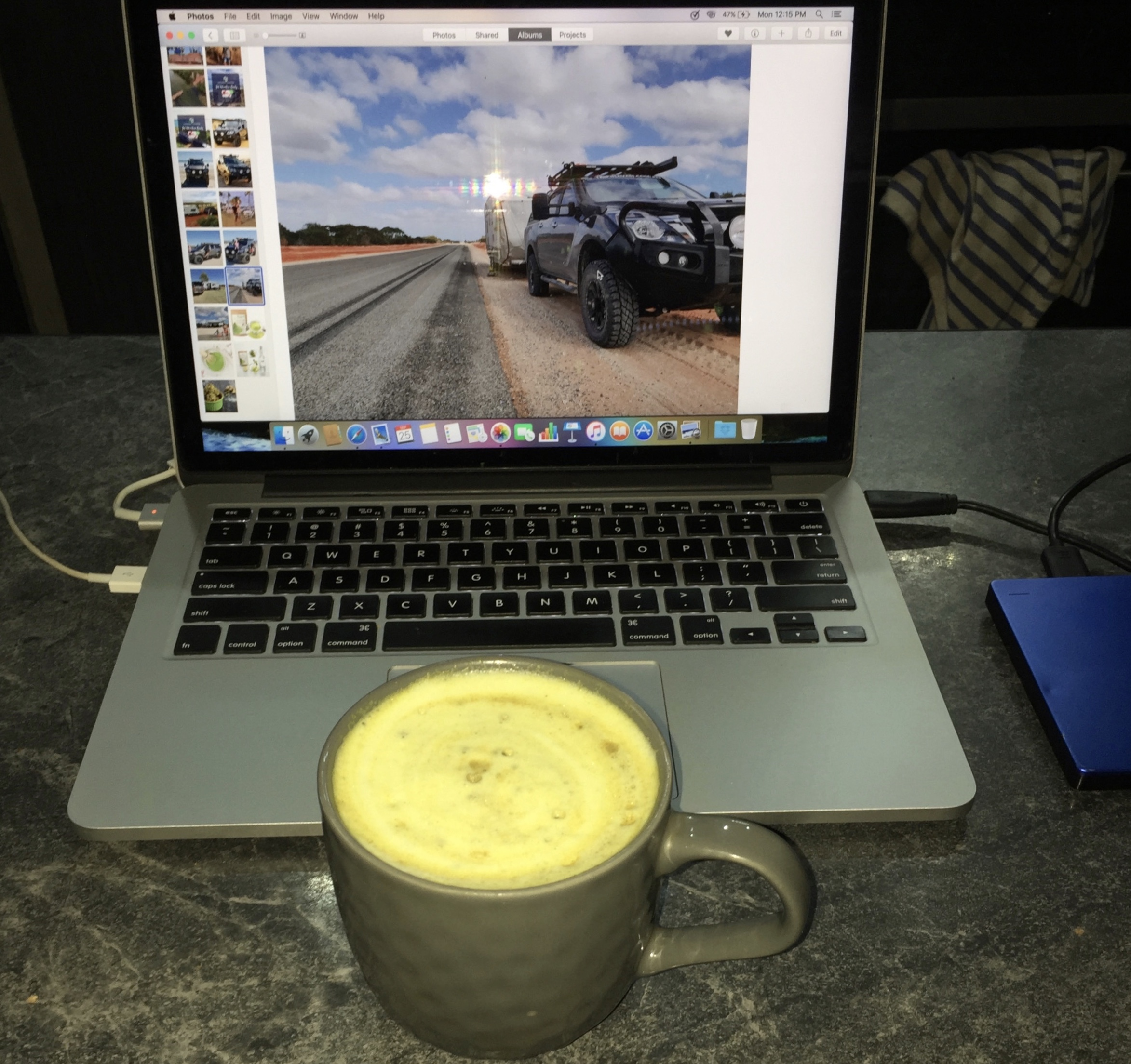 THE MATCHA TURMERIC LATTE - MY GO TO BEVERAGE FOR FOCUS AND CONCENTRATION.