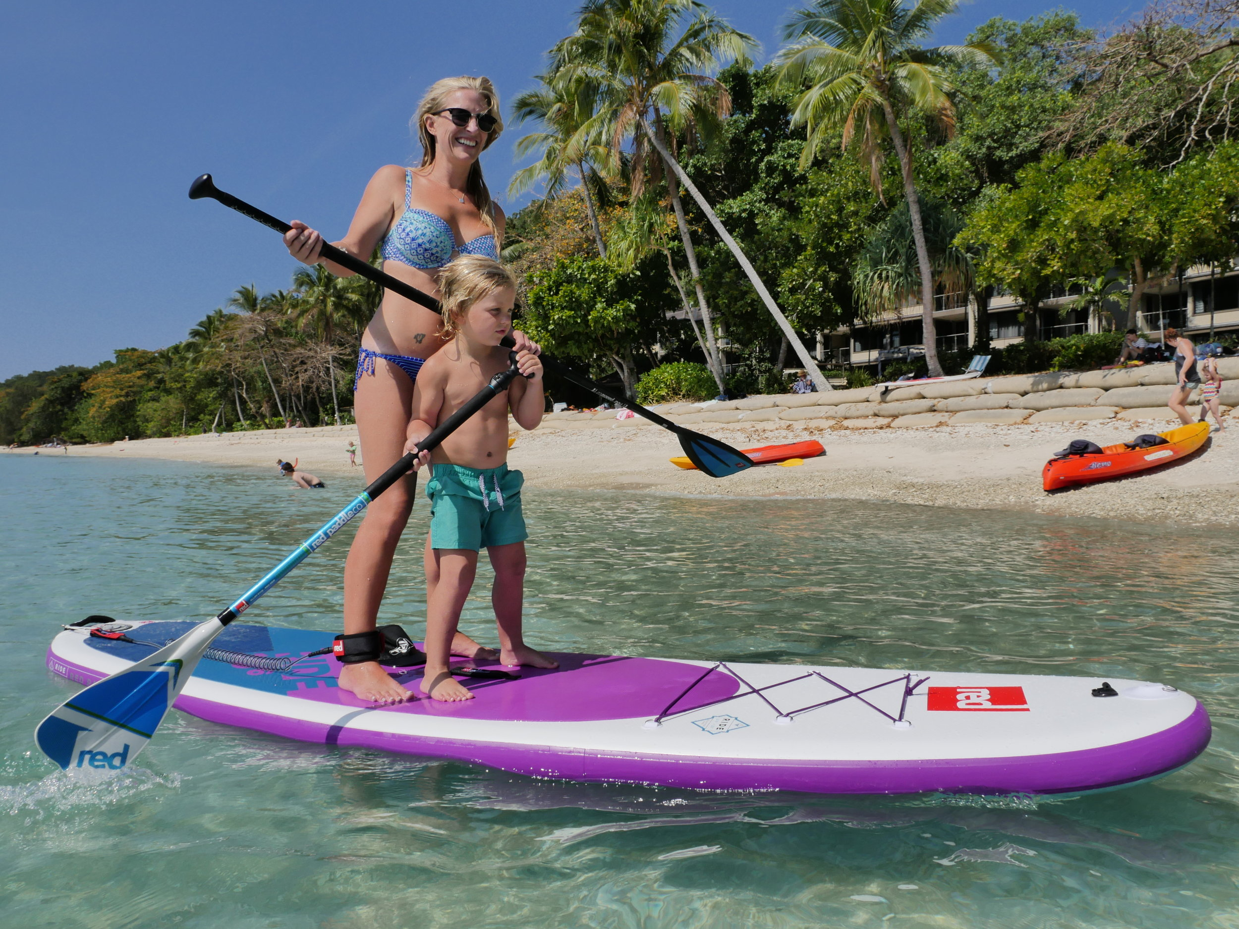 We are RedPaddleCo. Ambassadors - The worlds best inflatable Stand Up Paddleboards!