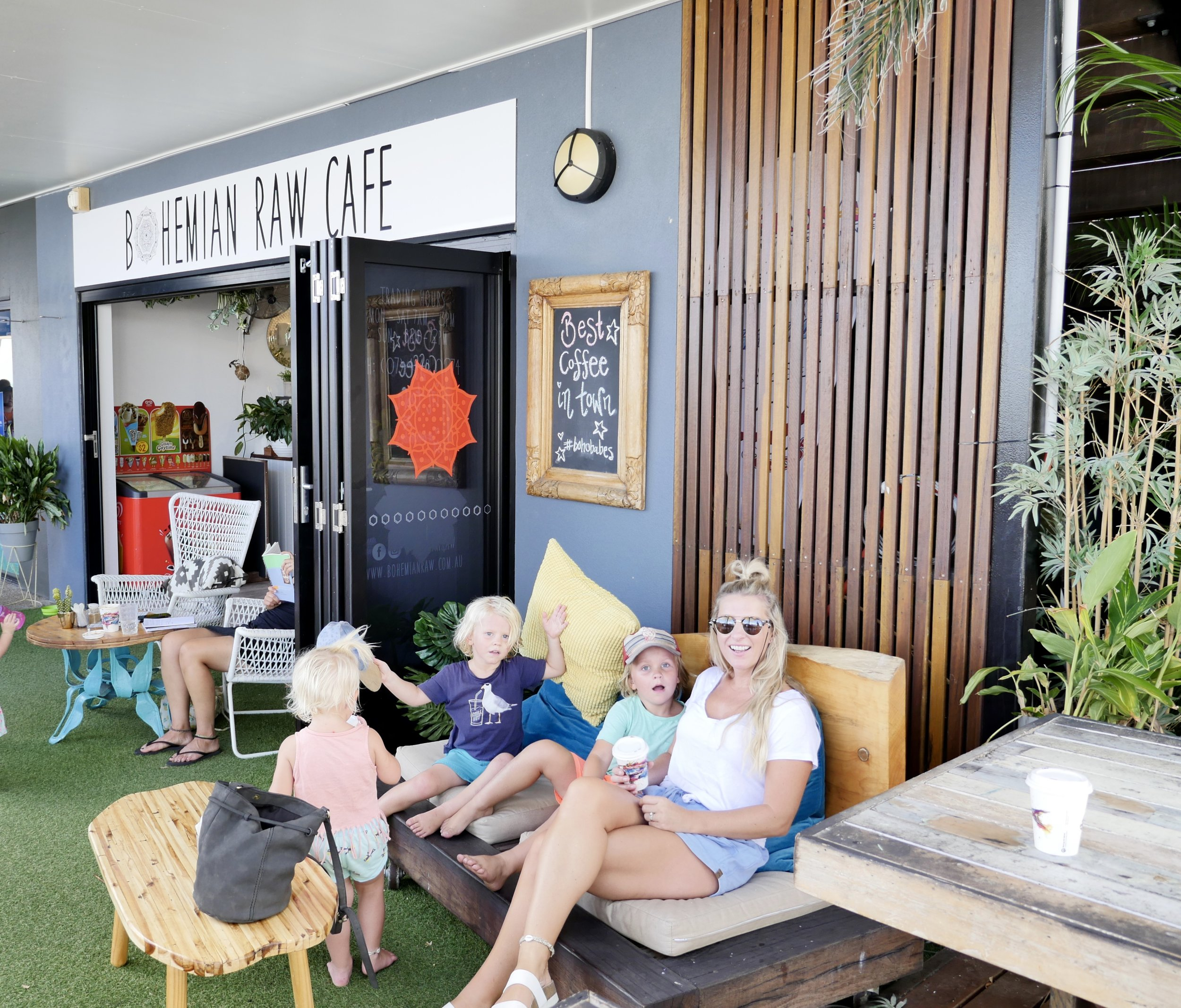 BOHEMIAN RAW CAFE AT THE ABEL POINT MARINA - THE BEST COFFEE IN TOWN