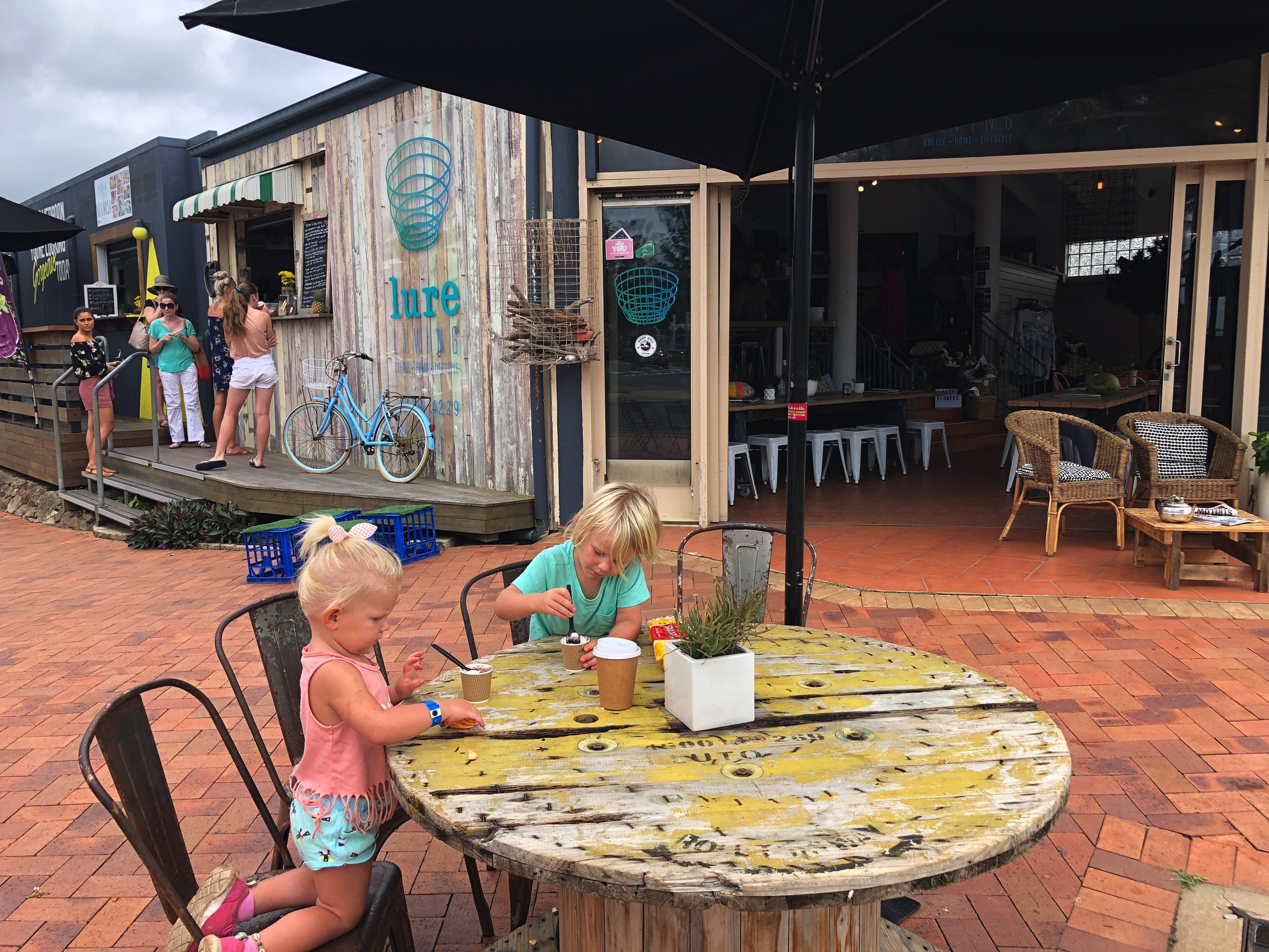 'Lure Living' Cafe    - IF YOU LOVE A GOOD COFFEE, CHECK THIS PLACE OUT ON THE WATERFRONT- fantastic brew & a funky place to chill out!!