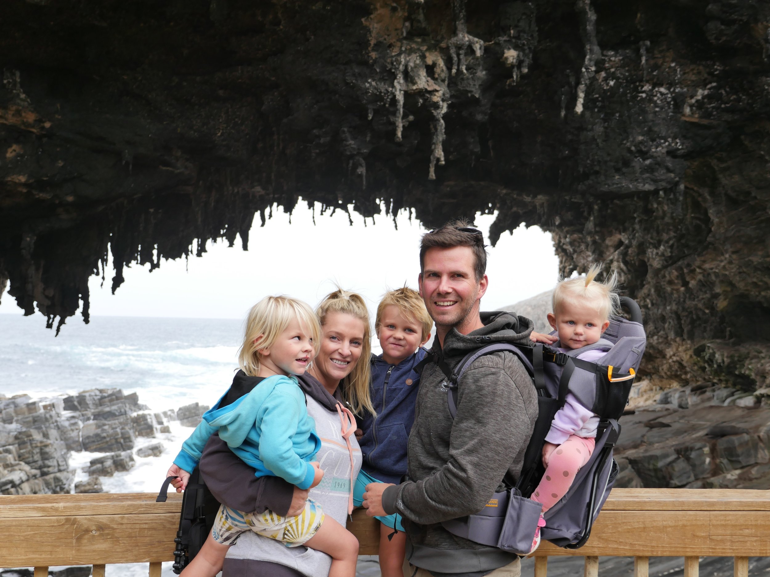 Explore - A good baby carrier is essential if you want to explore amazing landmarks around OZ!!