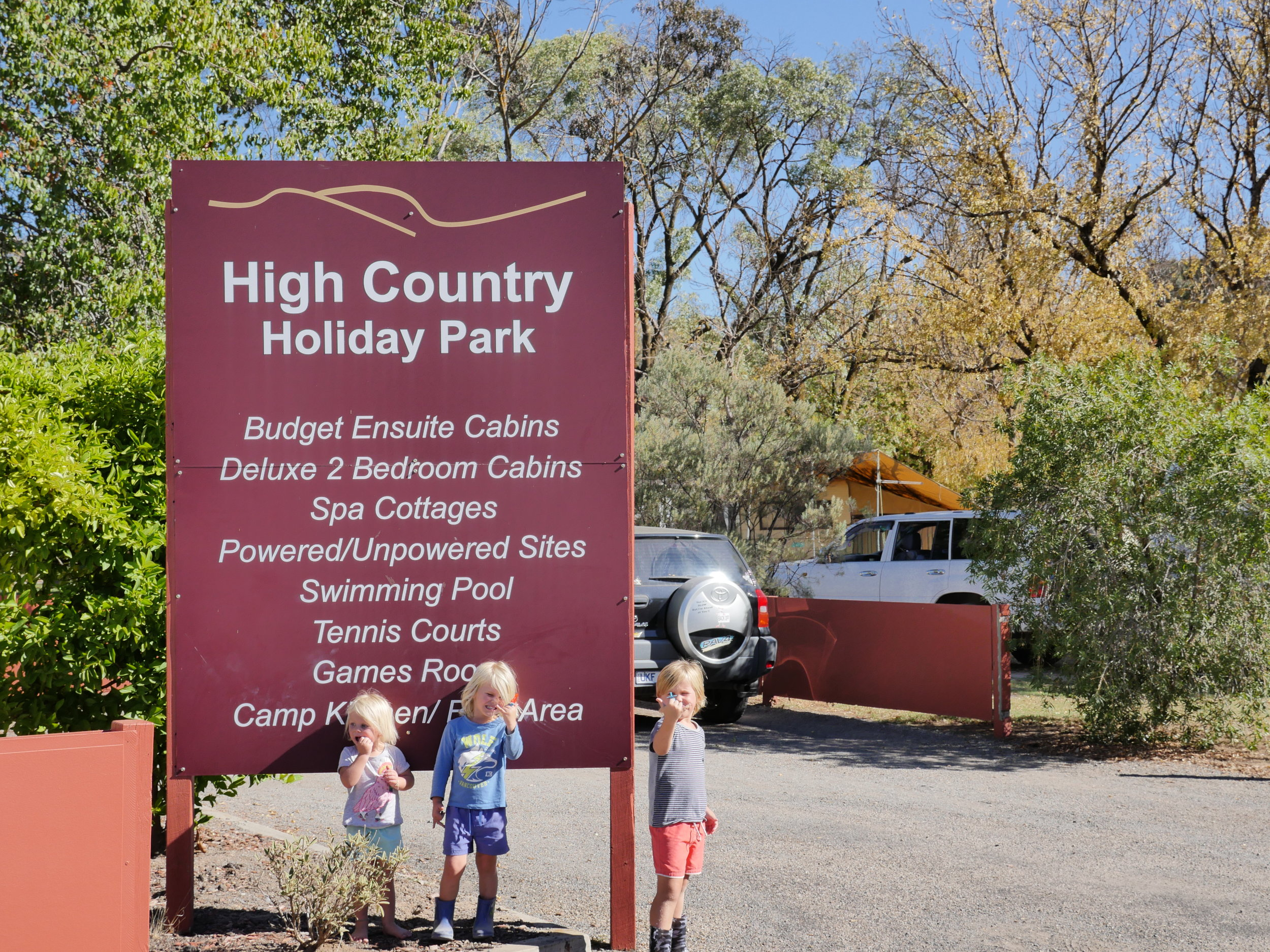 HIGH COUNTRY HOLIDAY PARK  - A TOP SPOT TO START YOUR HIGH COUNTRY ADVENTURE!