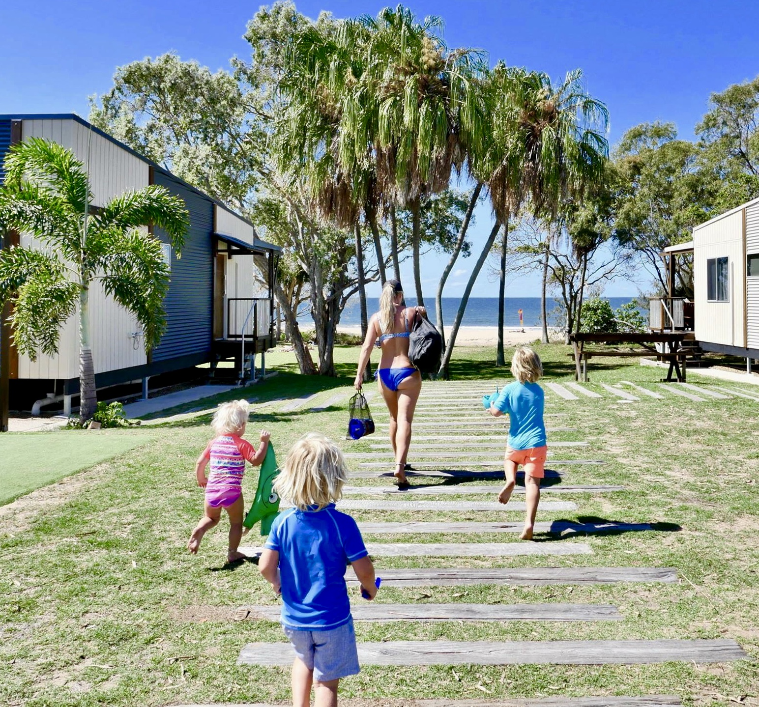 Agnes Water Holiday Park.