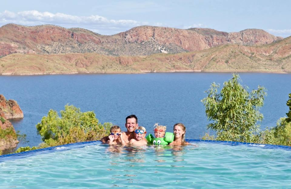 Lake Argyle's Infinity Pool