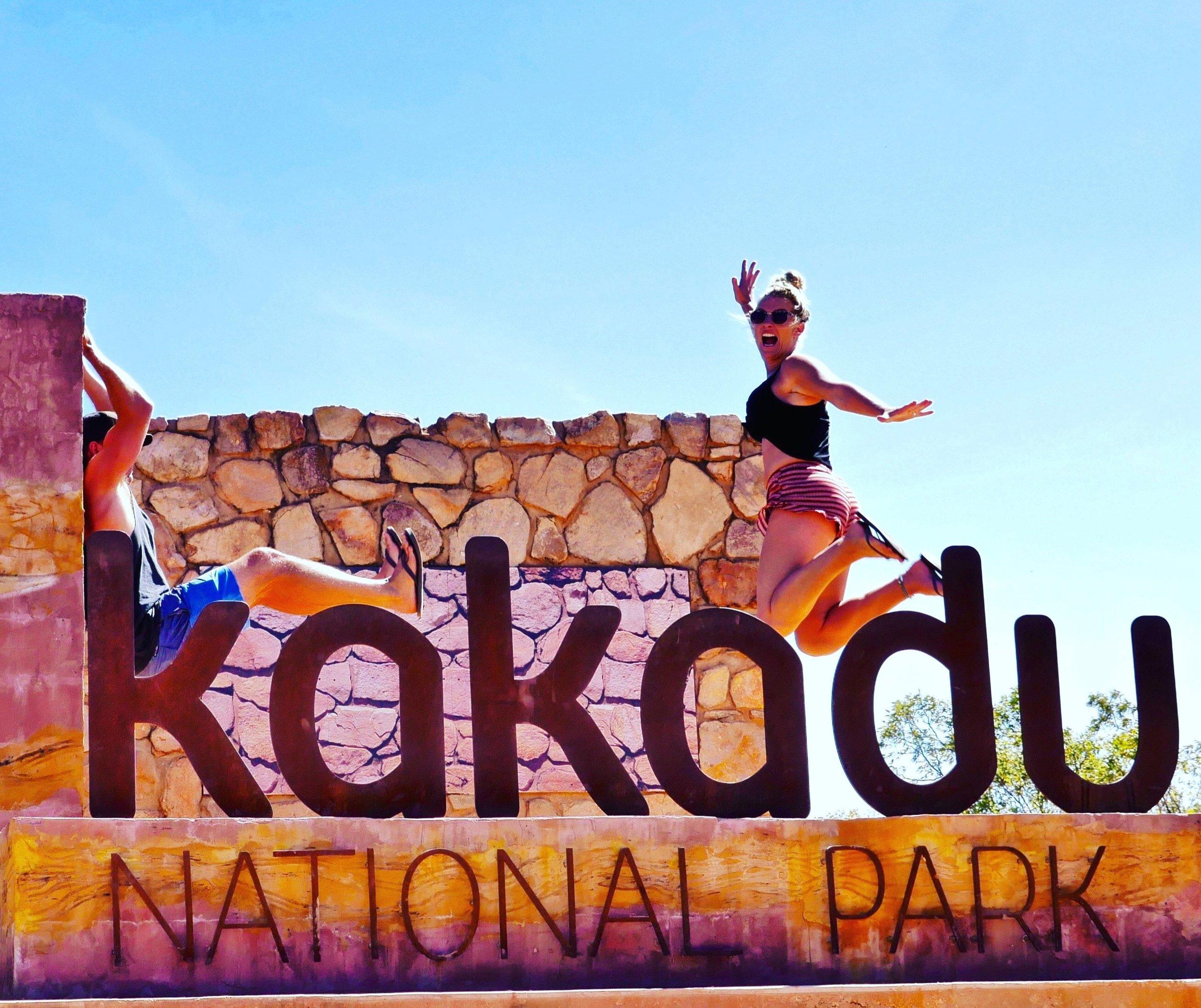 Entry to Kakadu