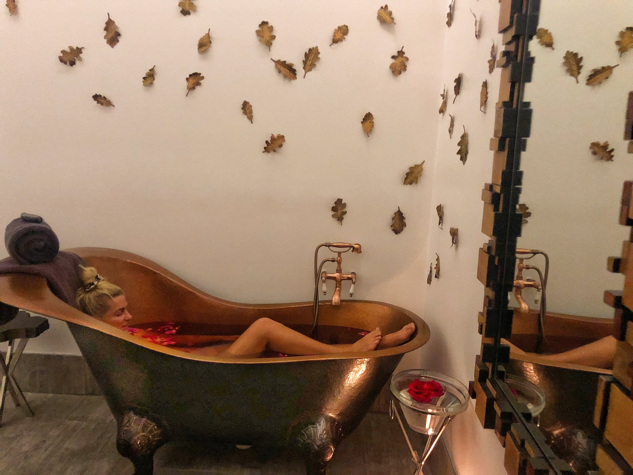 Wine Bath - need I say more.