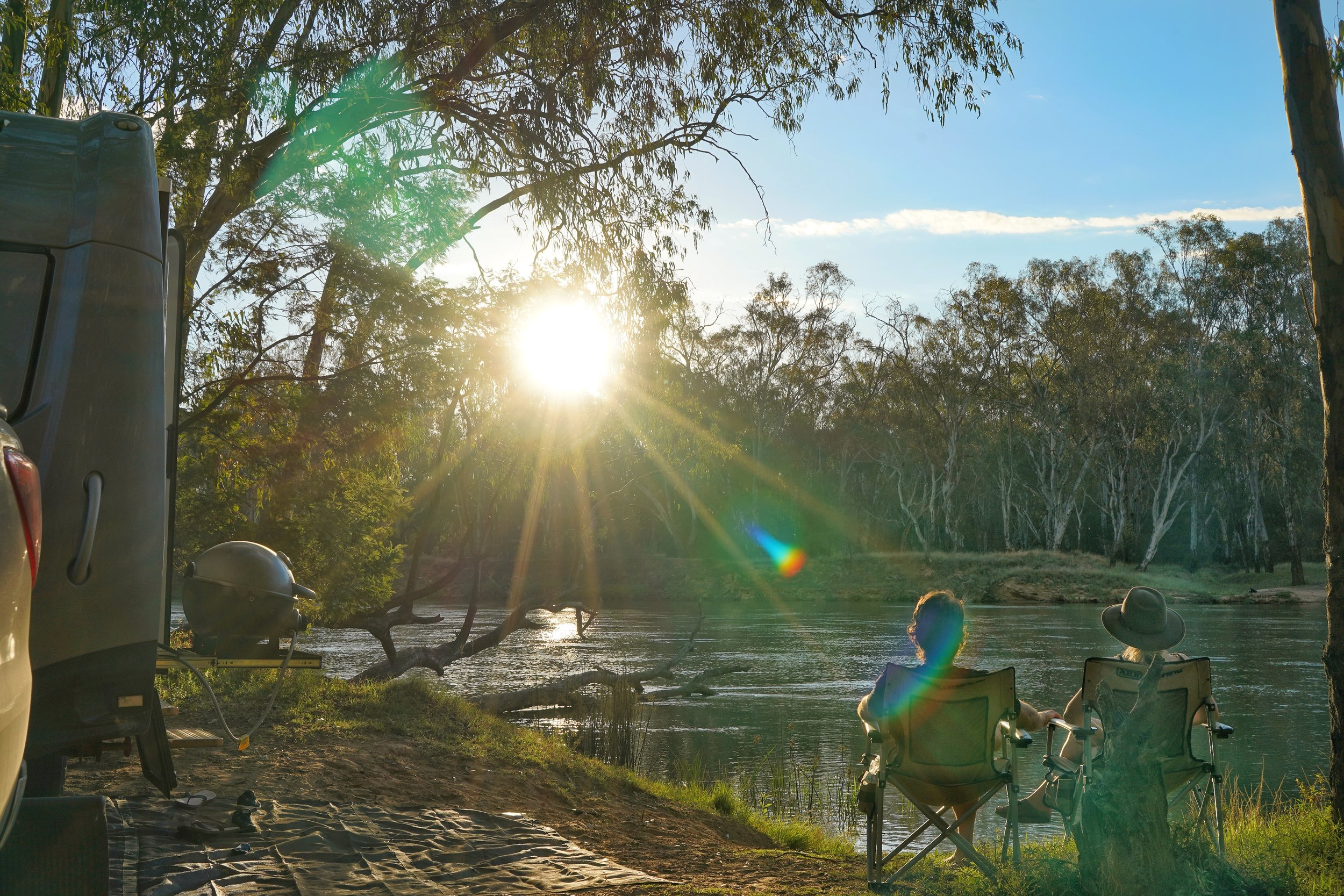 Sunsets on the Murray