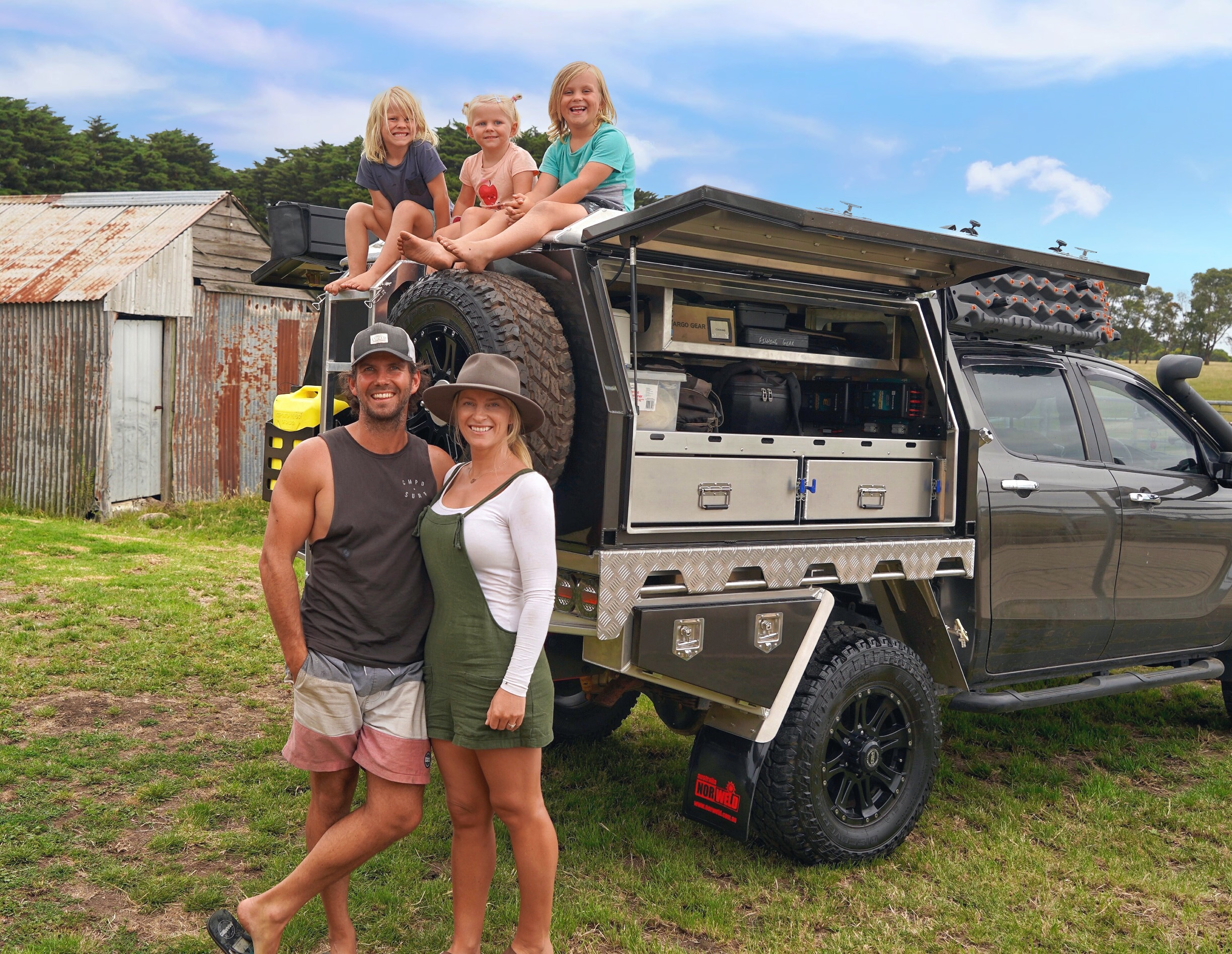 The New addition for 2019 is an Alloy Canopy from Norweld Australia. Keep reading below to find out more info in specs and details on the build.