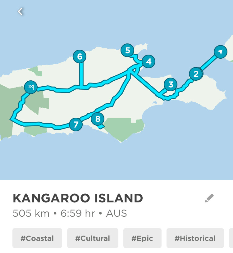 DOWNLOAD THIS ROUTE - KANGAROO ISLAND