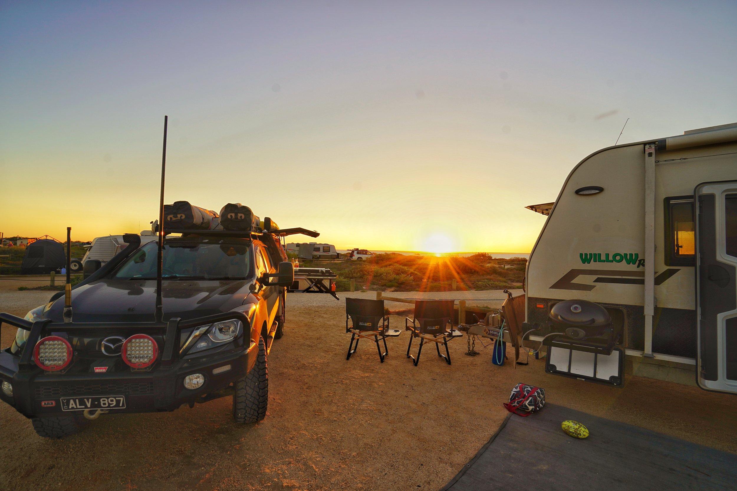 Osprey Bay Campground.