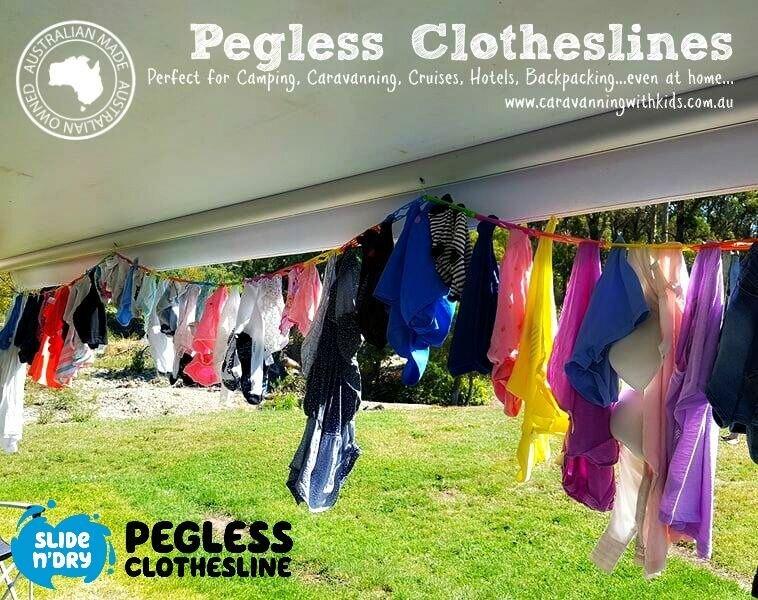 Pegless Clothesline $12.95