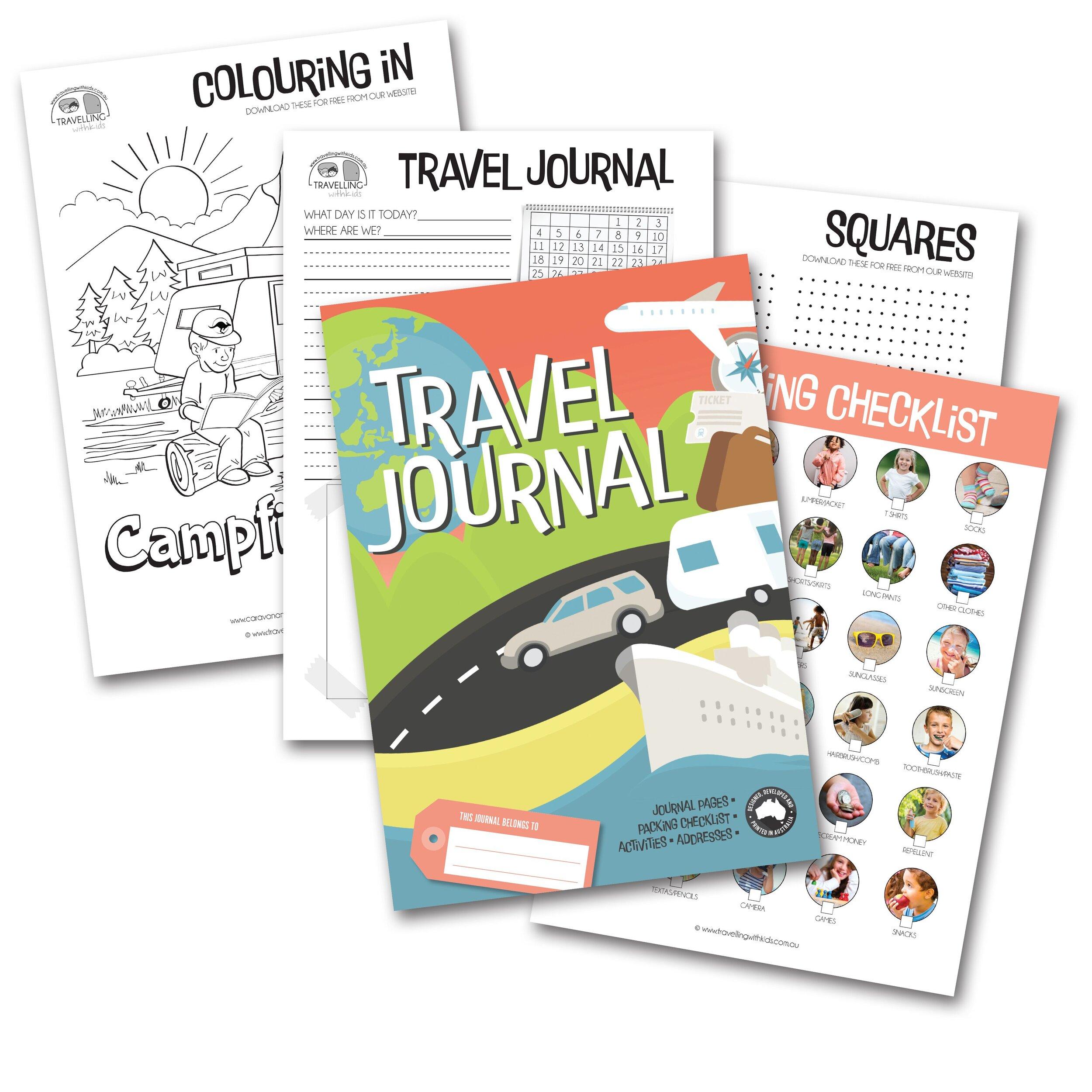 Travel Journal $24.95