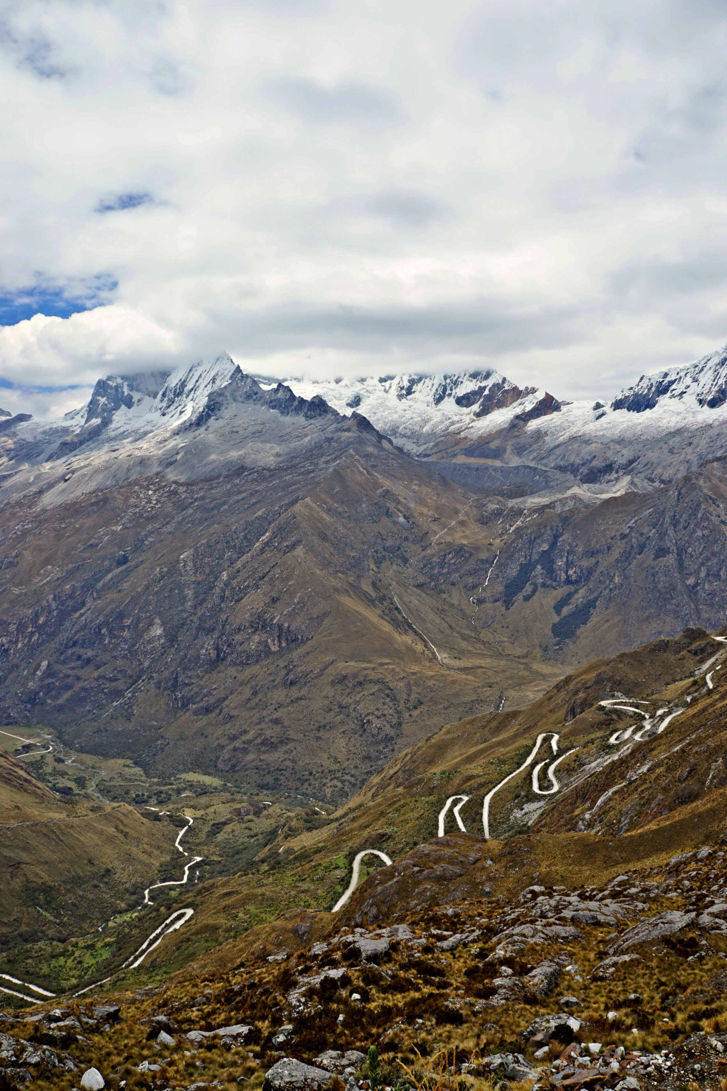 Heading out from Huascaran National Park