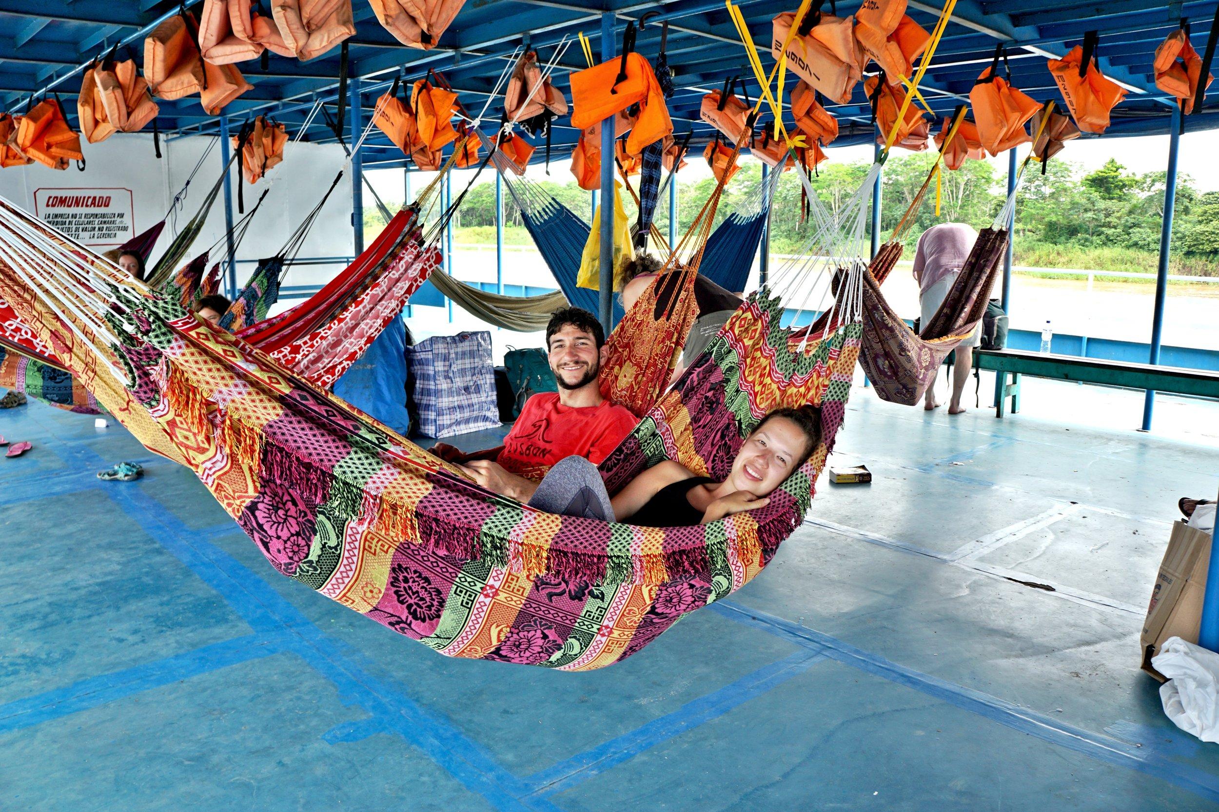 Living the hammock life
