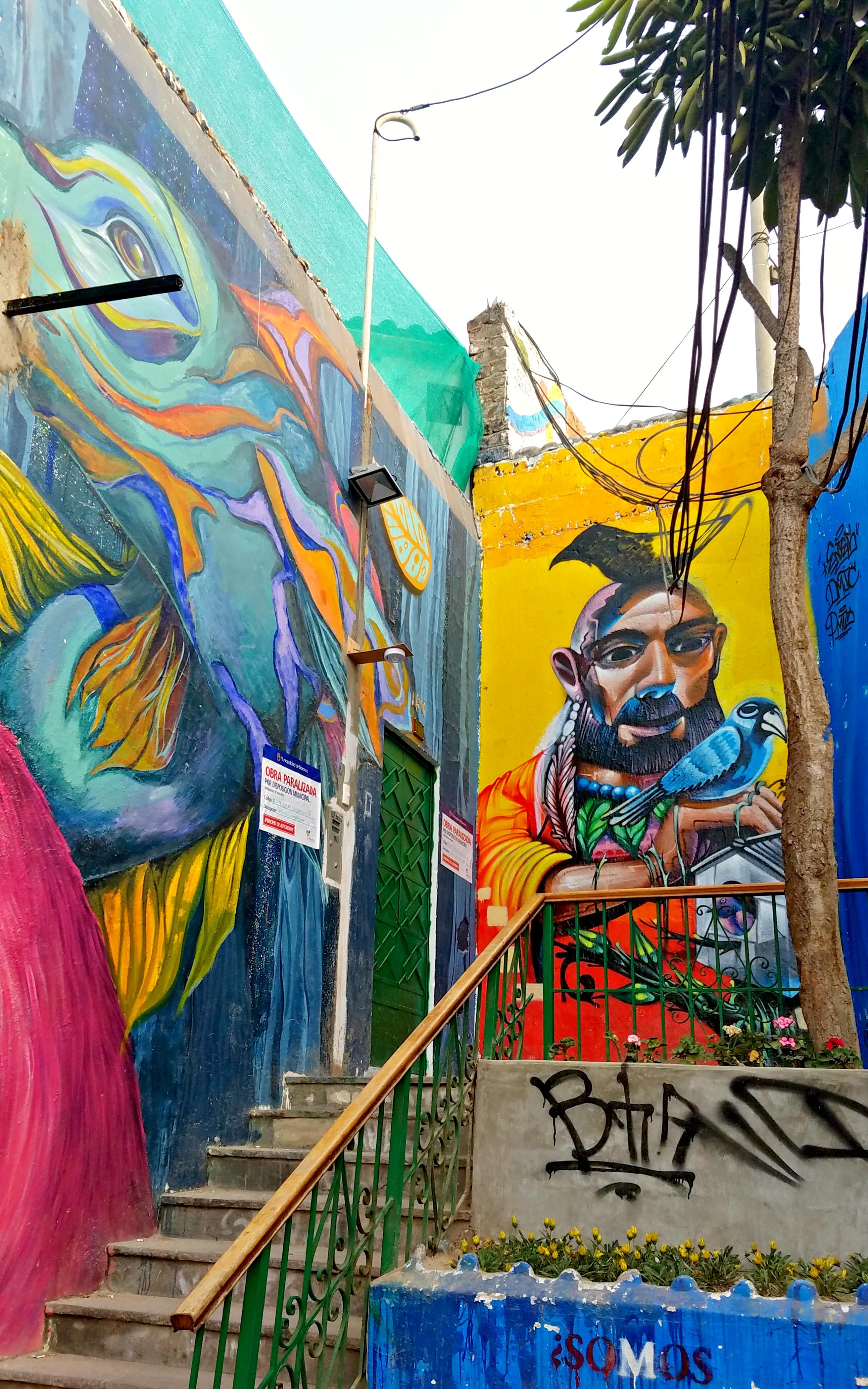 Street art in Barranco;Lima, Peru