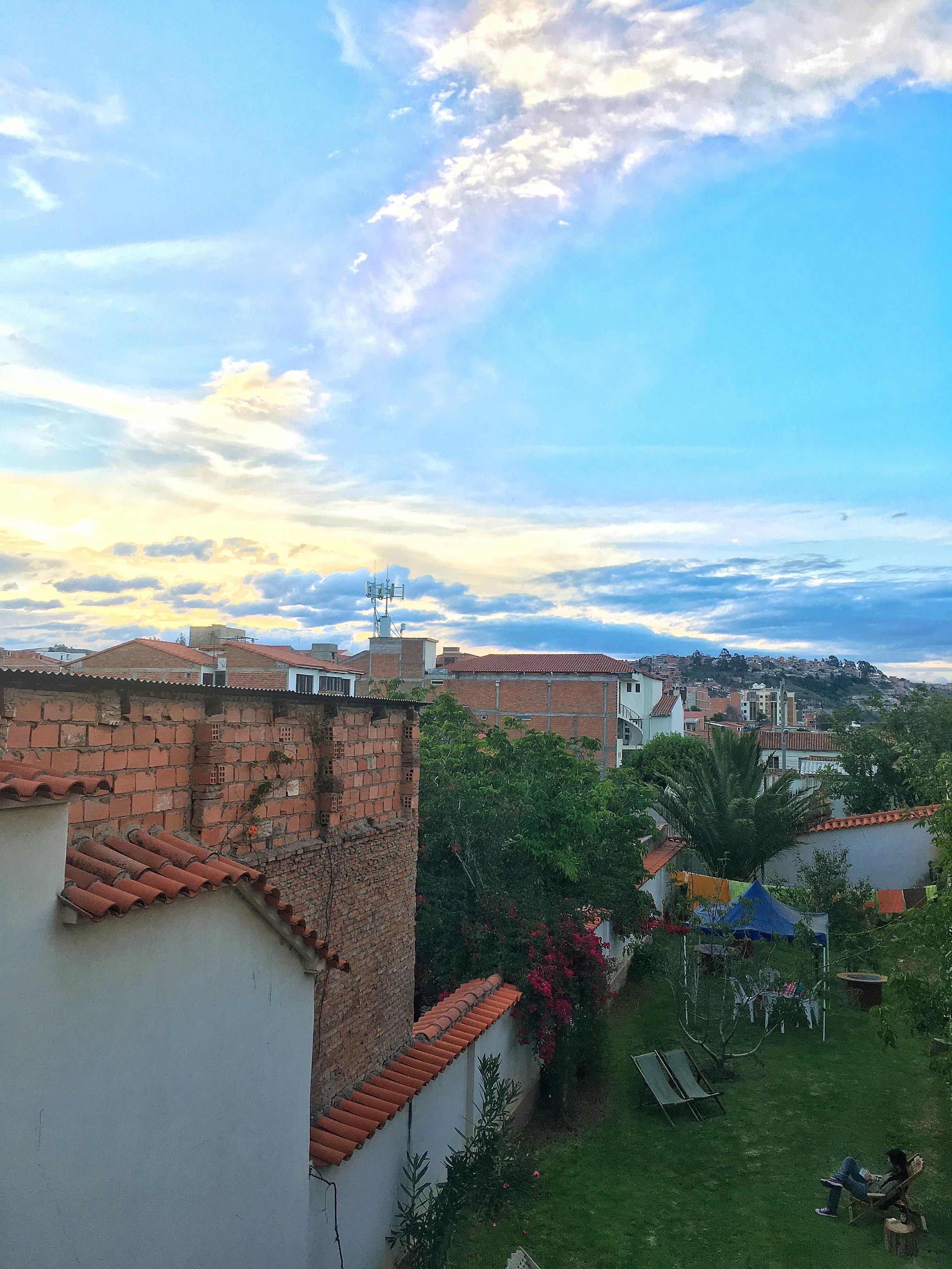 Cozy views from the Villa Oro Preza Hostal
