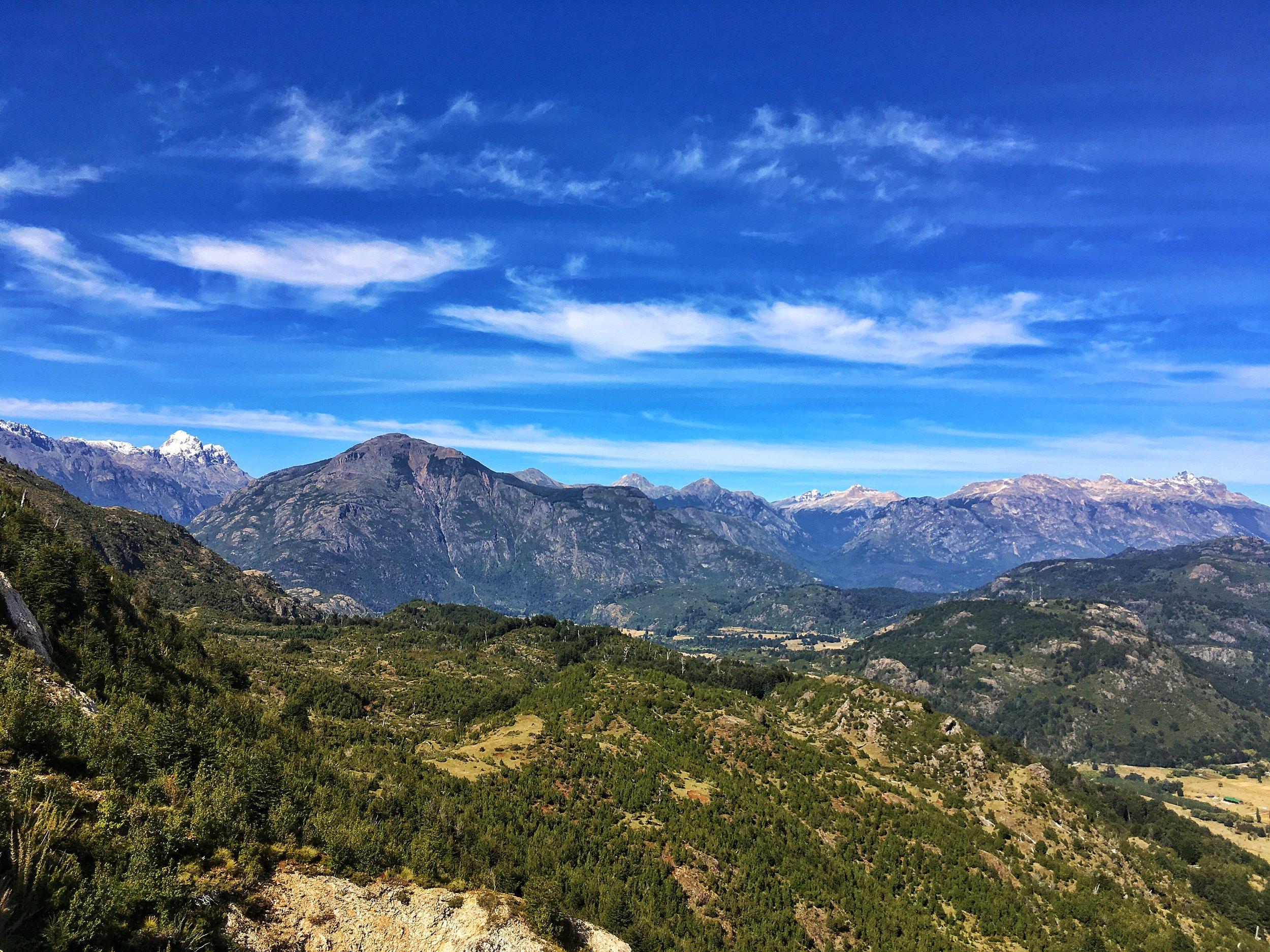 Peering into Futaleufu Valley