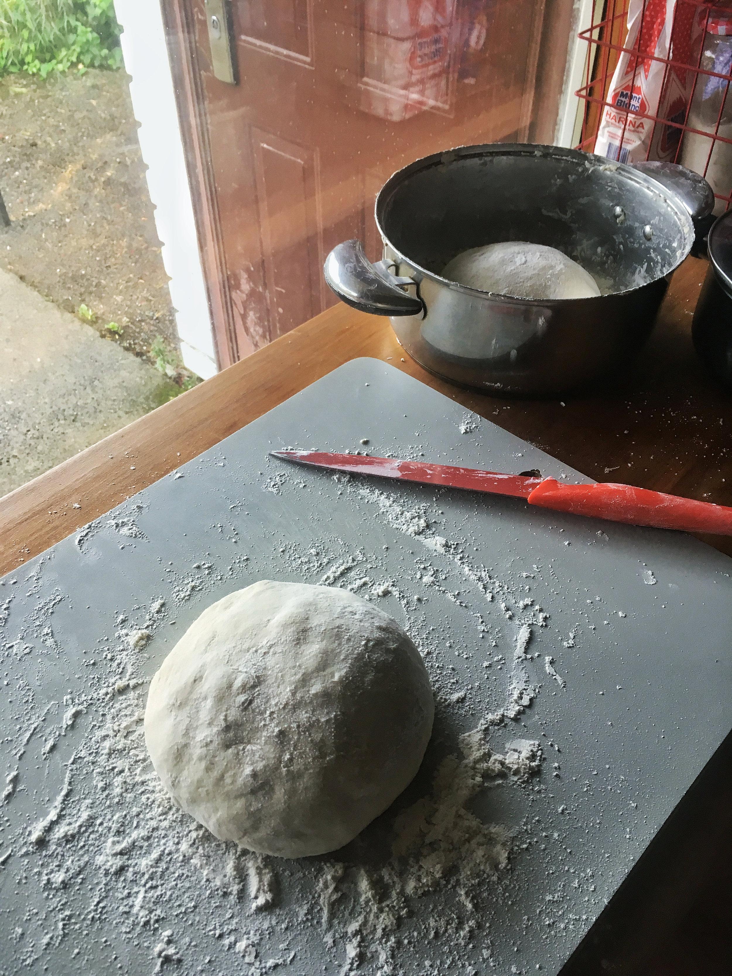 Breads taking shape