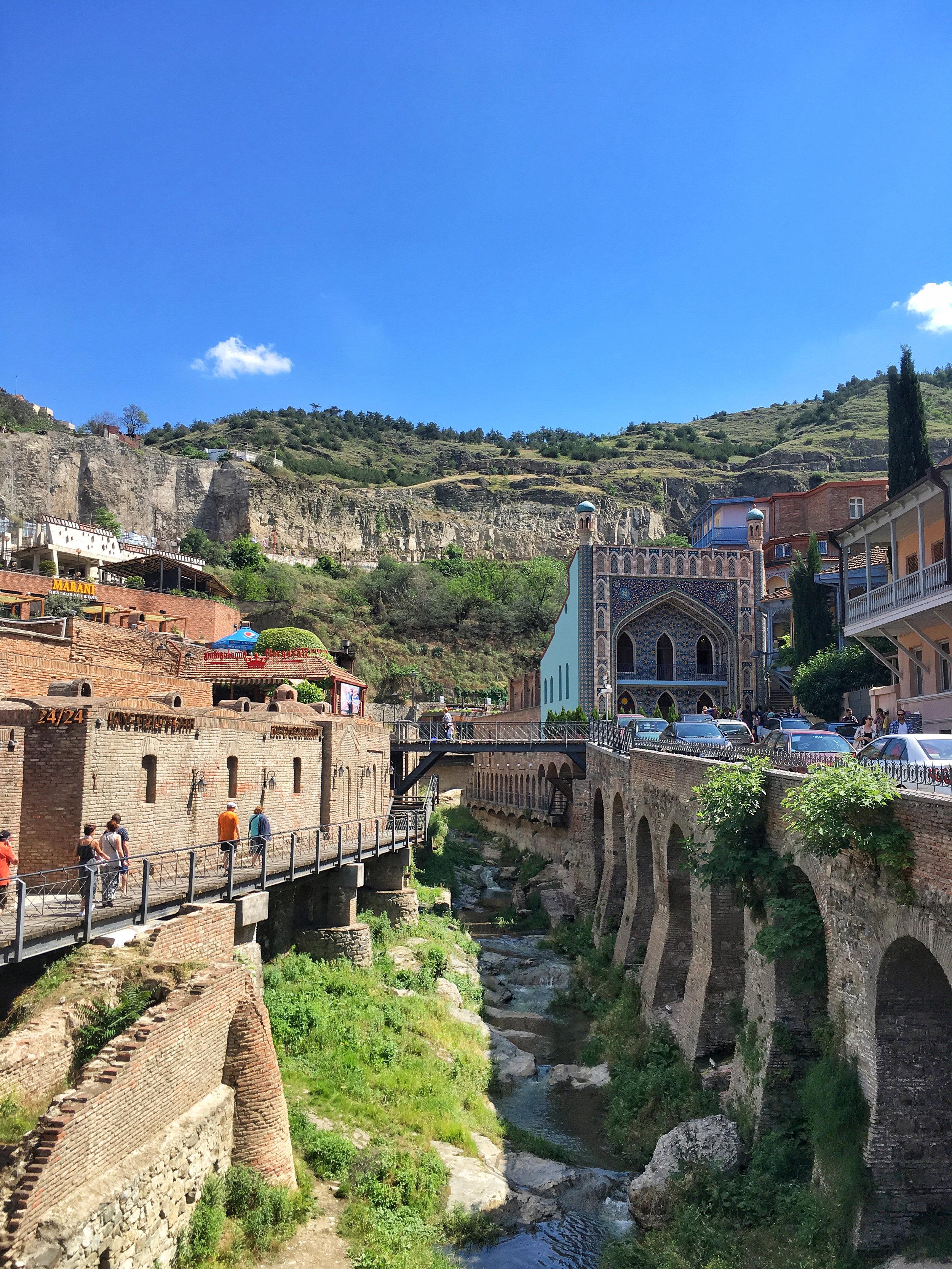 Old town Tbilisi bath houses (hamam)
