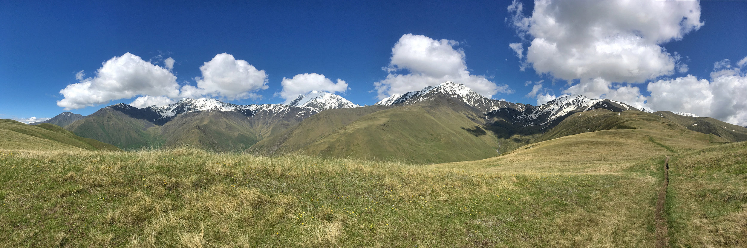 With views like this from camp, it's difficult to remember the dark side of this trek