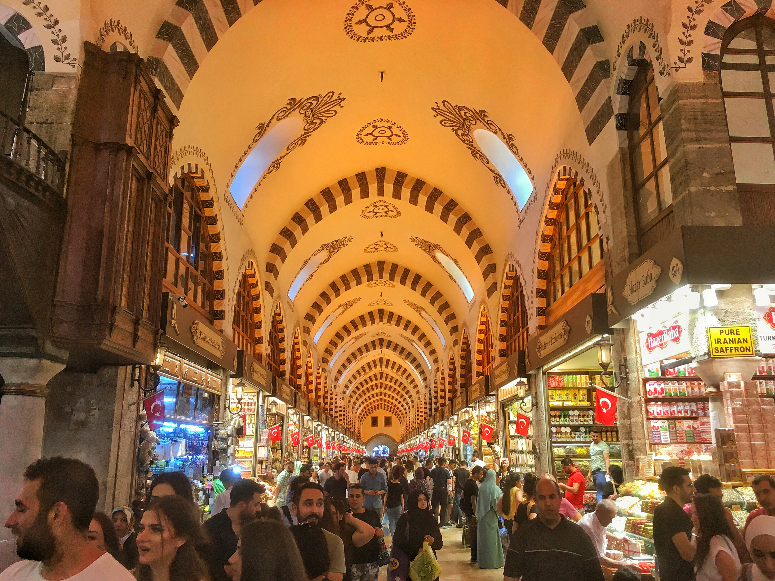 The Grand Bazaar - What it lacks in authenticity these days it makes up for with delicious samples!