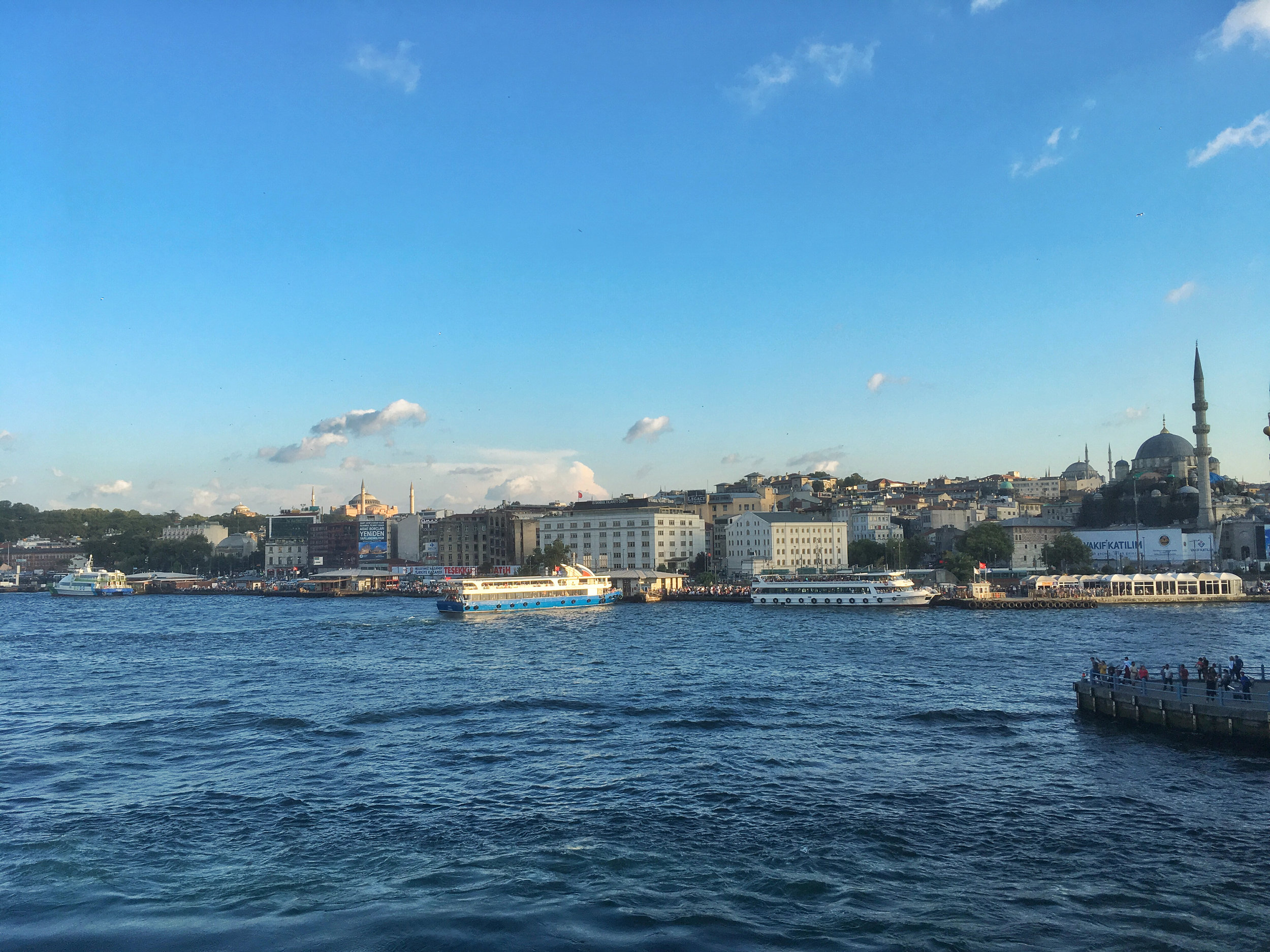 Sunset Cruising on the Bosphorus
