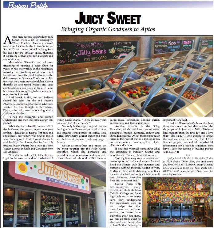 Juicy Sweet Business Profile