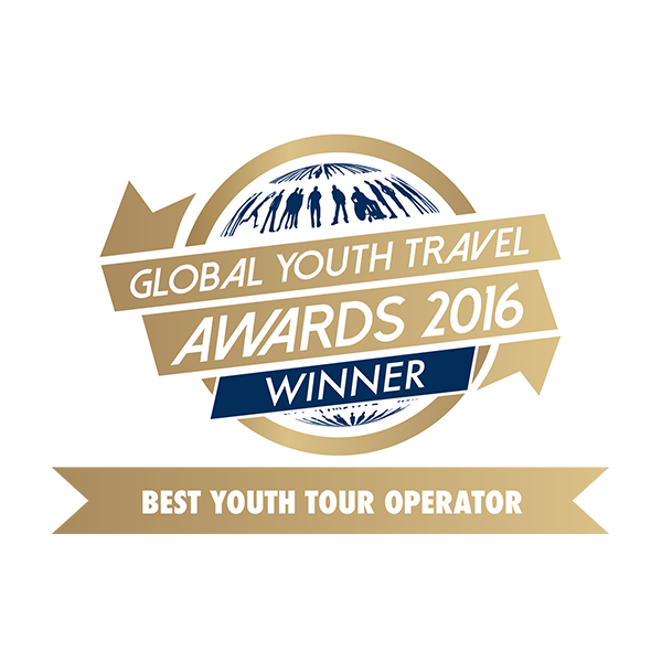 Breakaway Tours - Awards - Global Youth Travel Awards 2016 - Winner - Best Youth Tour Operator