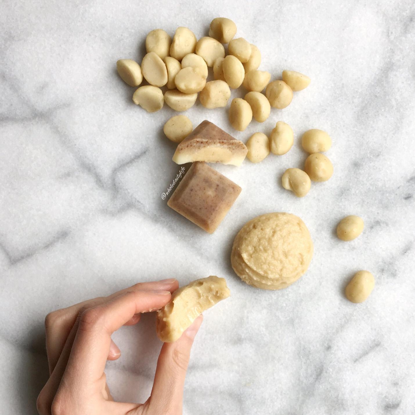 Macadamia White Chocolate Truffles