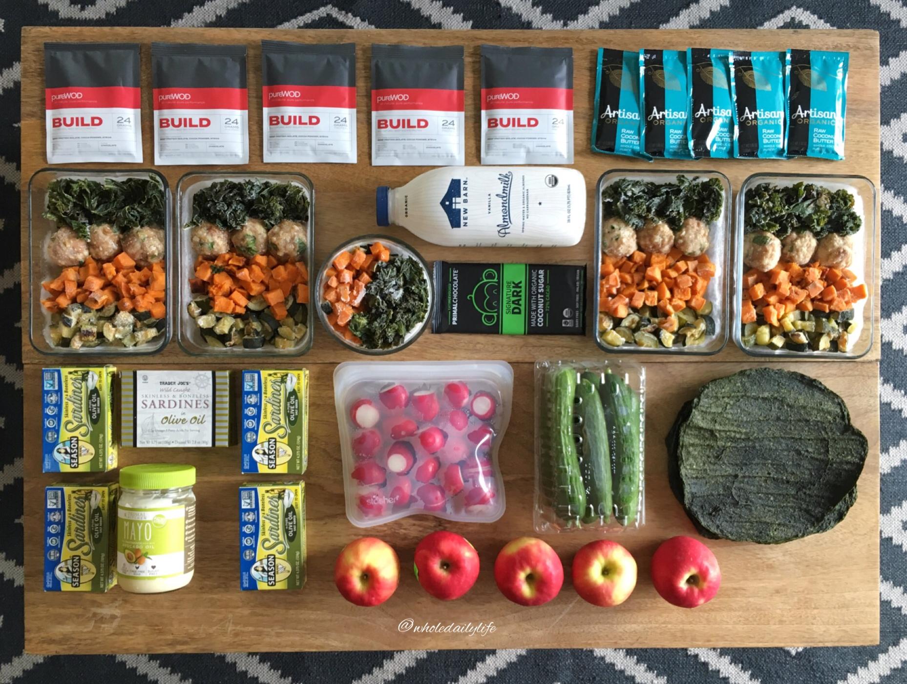 Meal Prep 4/10/17: Back to Basics