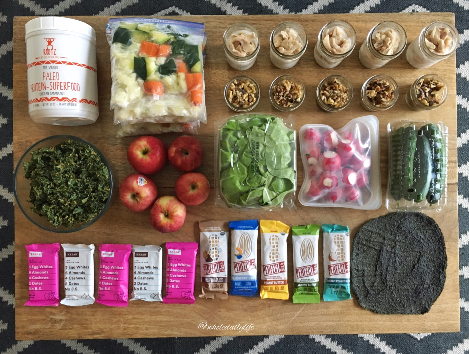 Meal Prep 5/8/17: Post Vacation