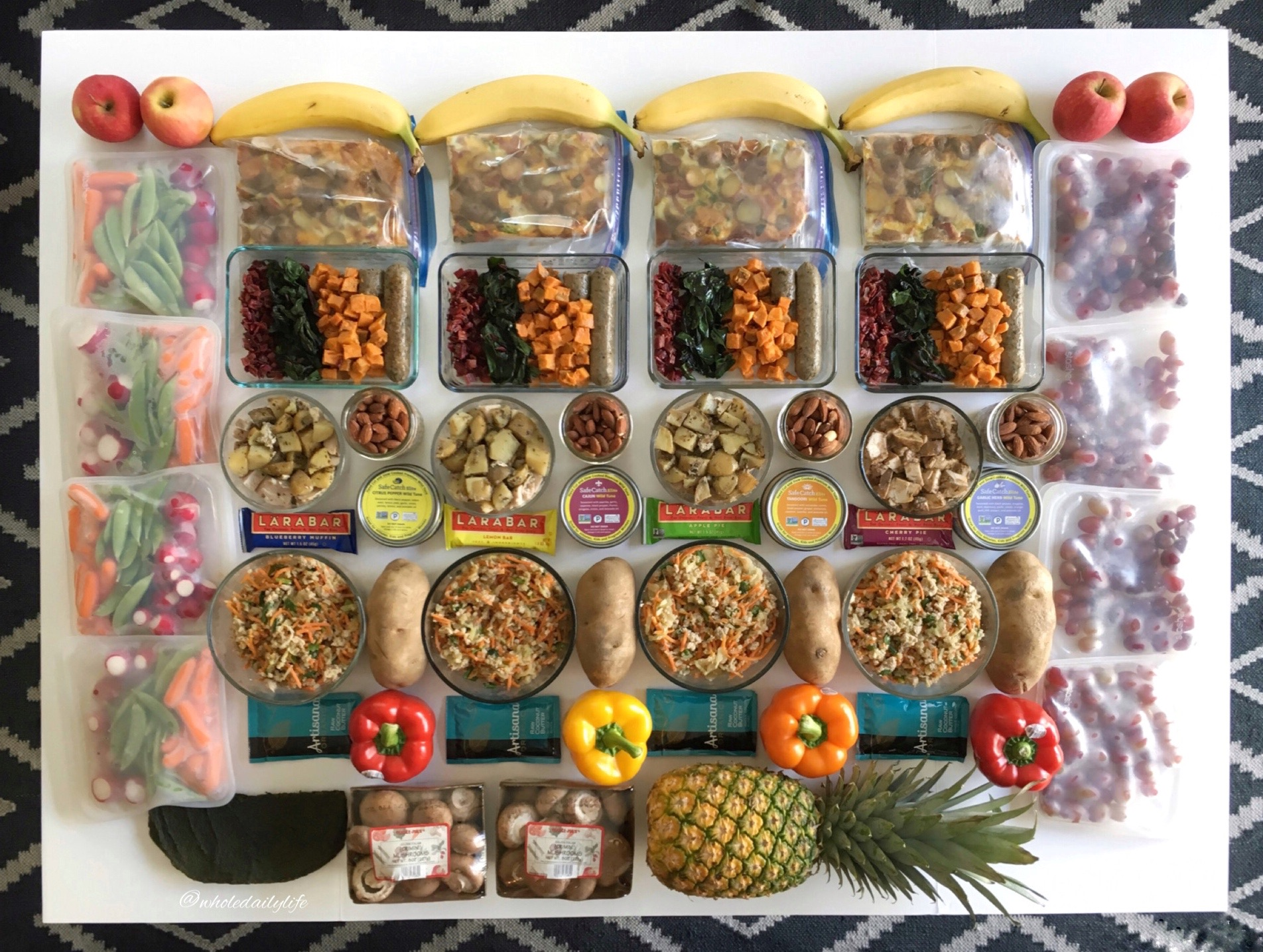 Meal Prep: 7/17/17: Whole 30 Week 4 | Whole Daily Life
