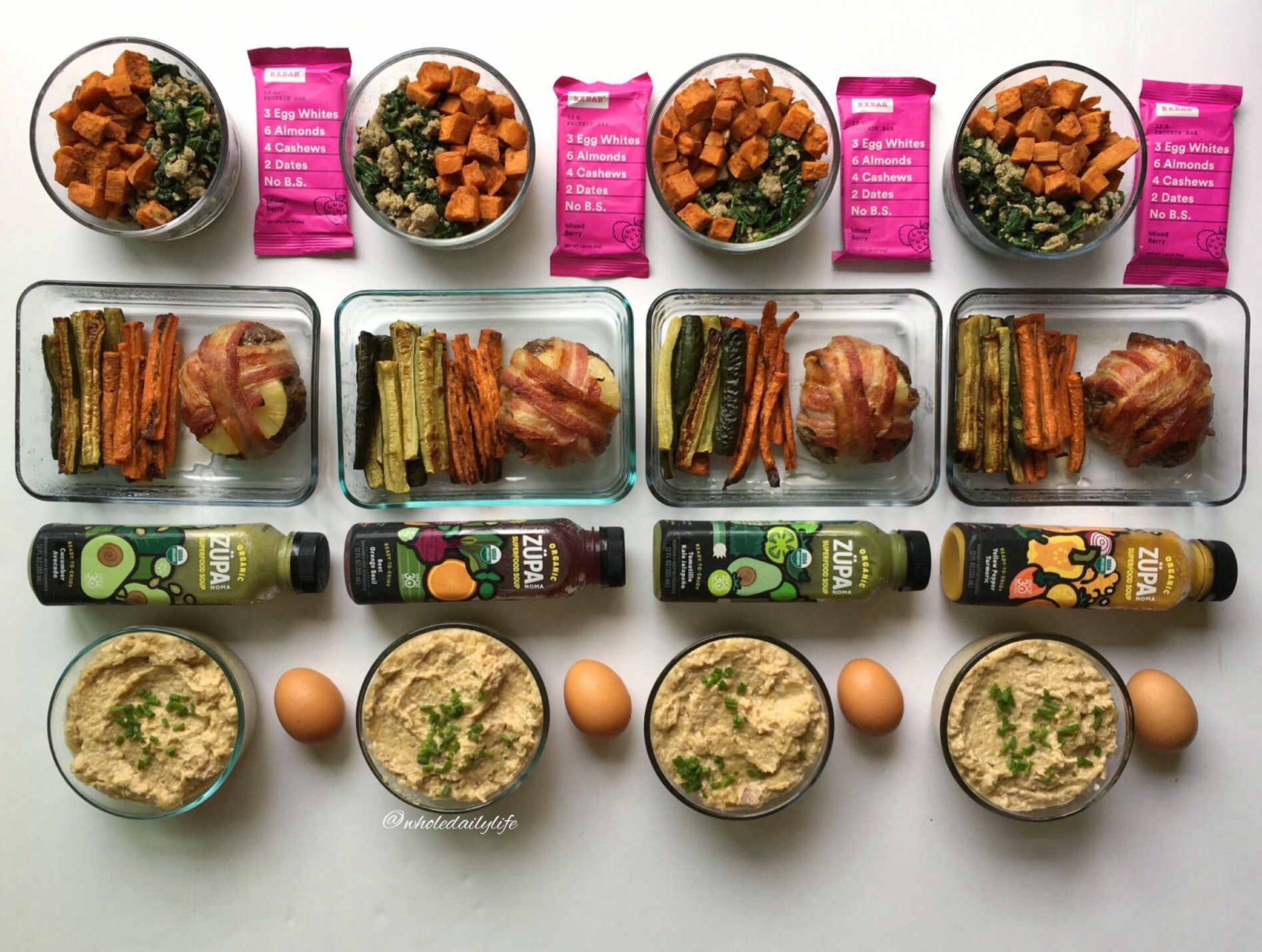 Whole Daily Life Meal Plan 11/6/17: Easy Peasy Whole30