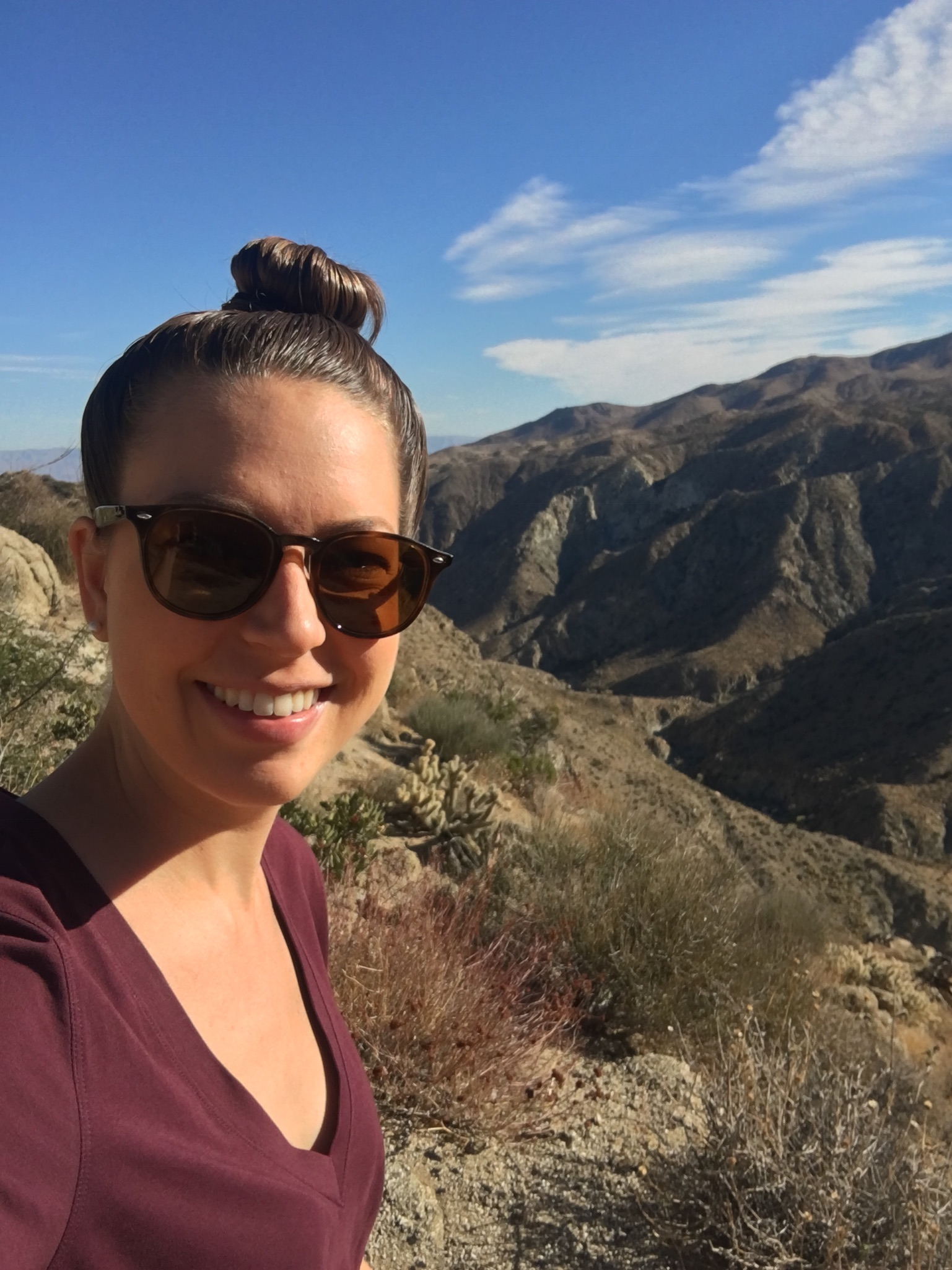 We stopped at an overlook and took a quick hike to stretch our legs. The views were incredible!