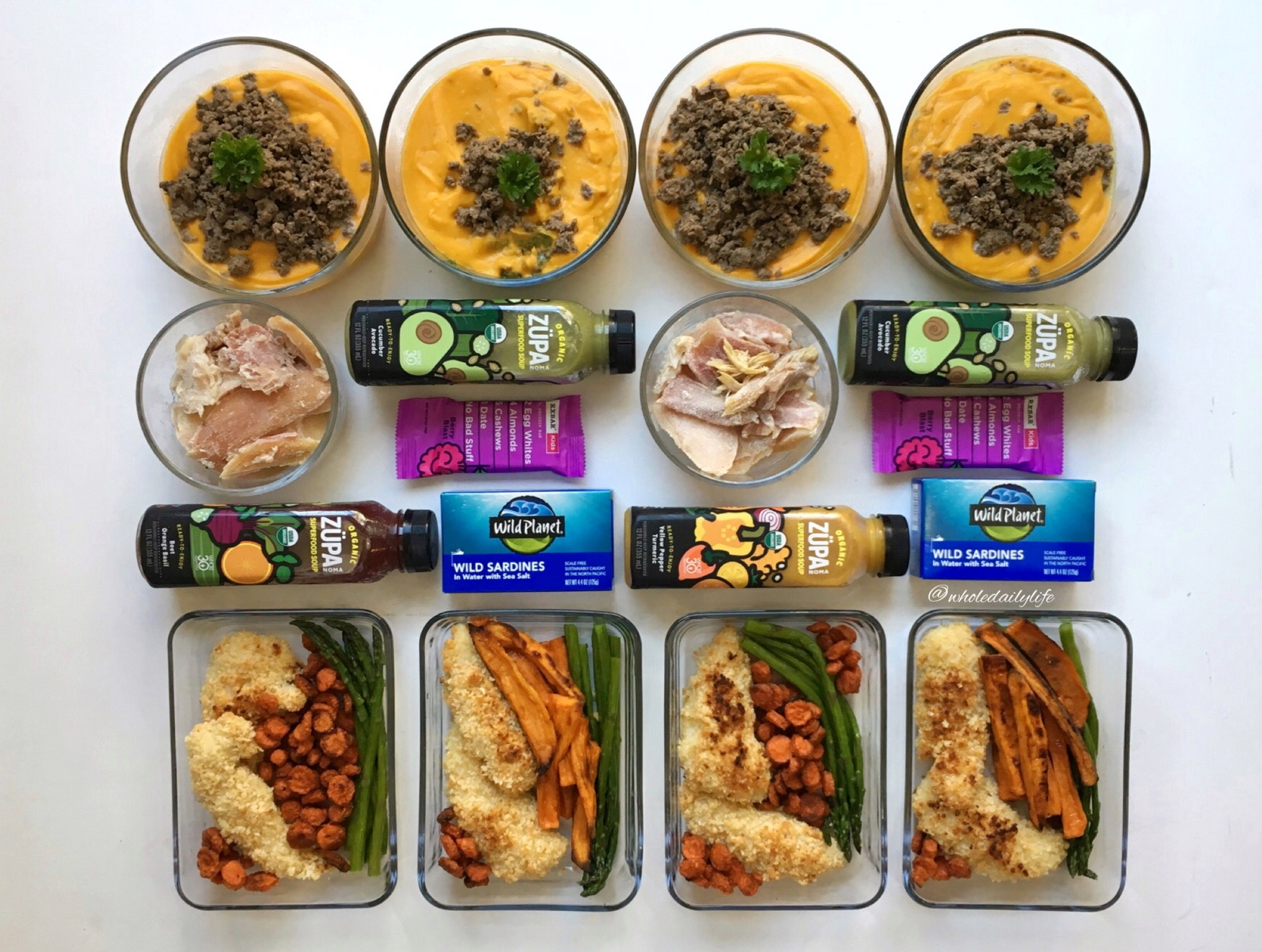 Whole Daily Life Meal Plan 1/1/18: January Whole30!