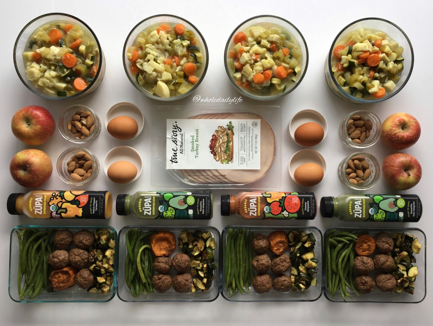 A Week of Whole30 Meals In 2 Hours | Whole Daily Life