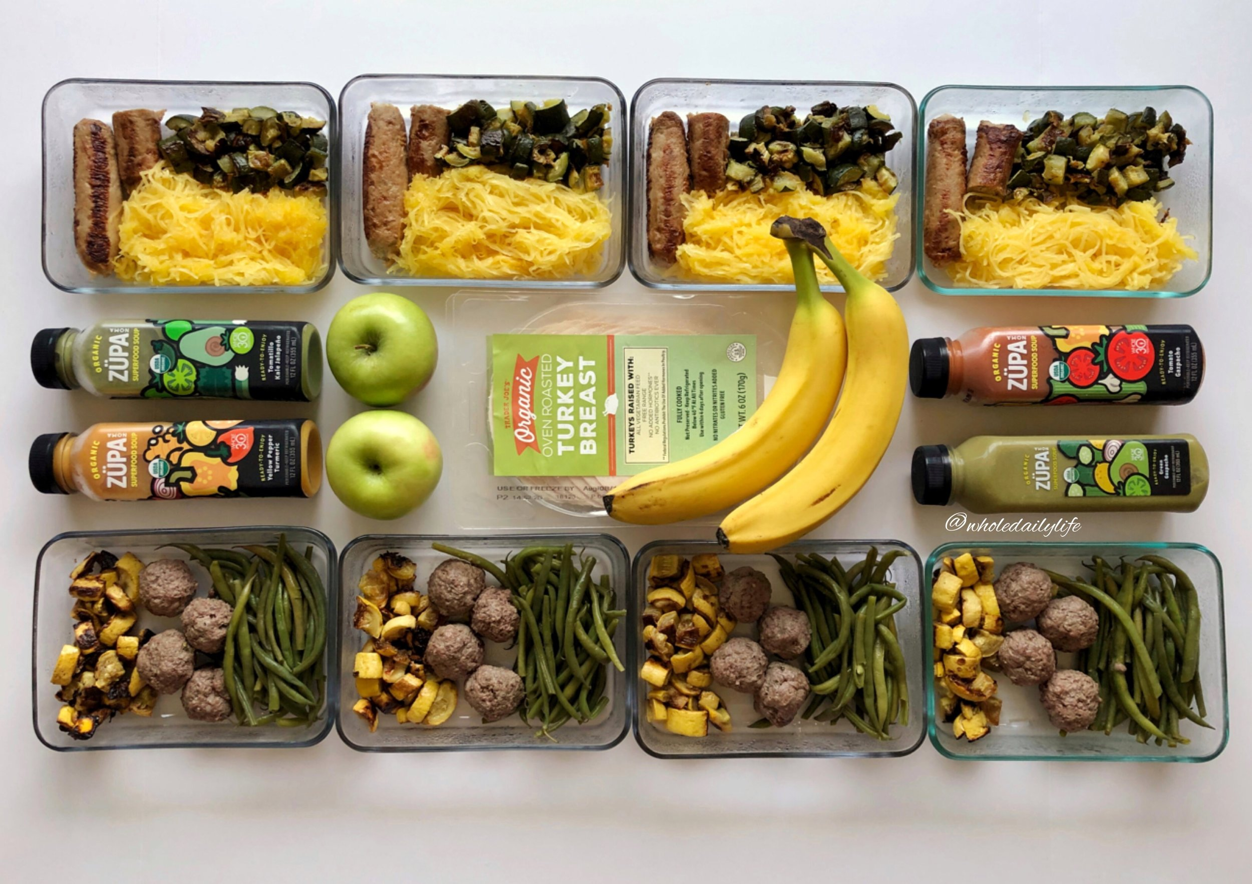 My Top Tip for Simple Whole30 Meal Prep | Whole Daily Life