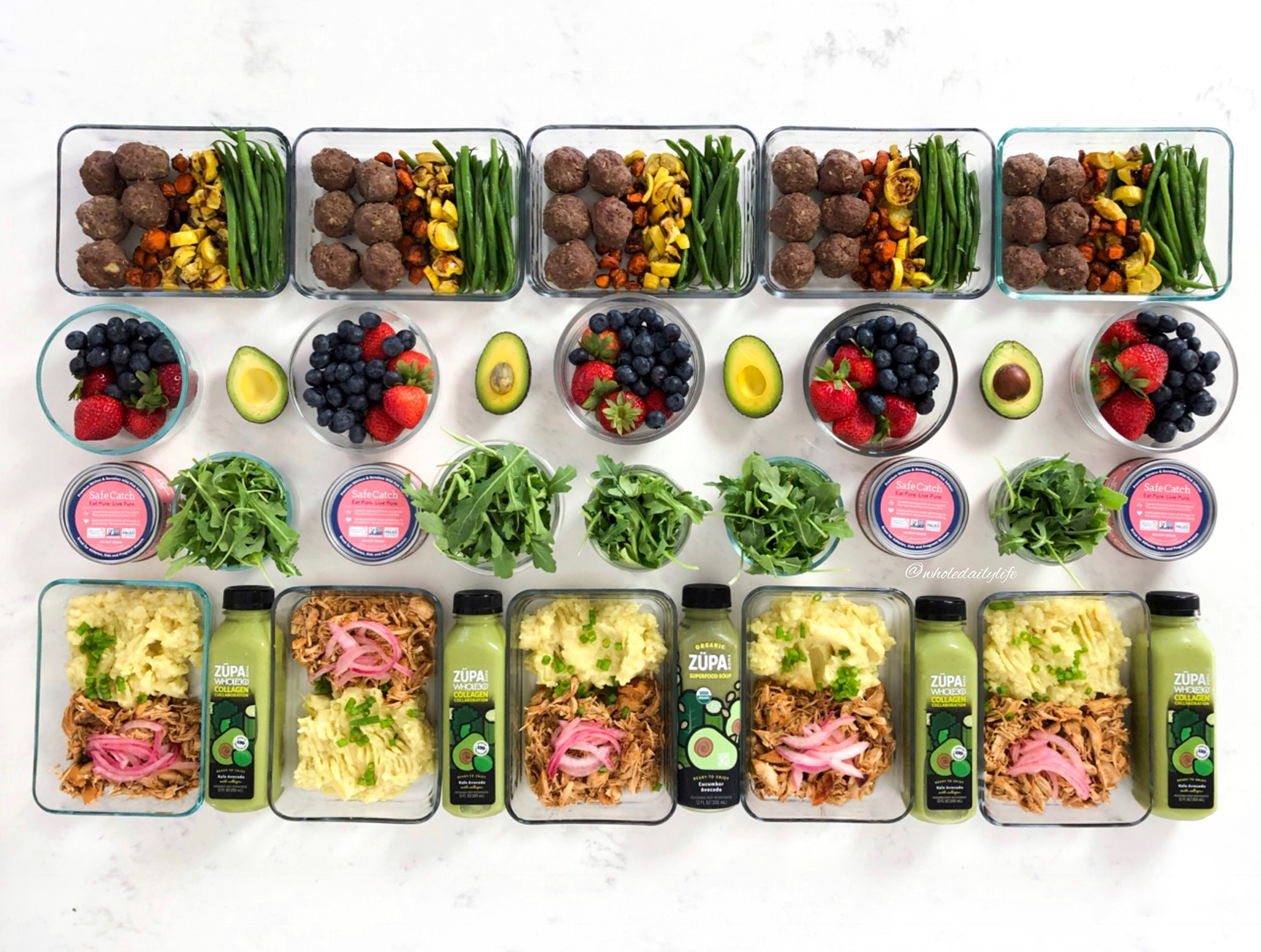 60 Minute Whole30 Meal Plan | Whole Daily Life
