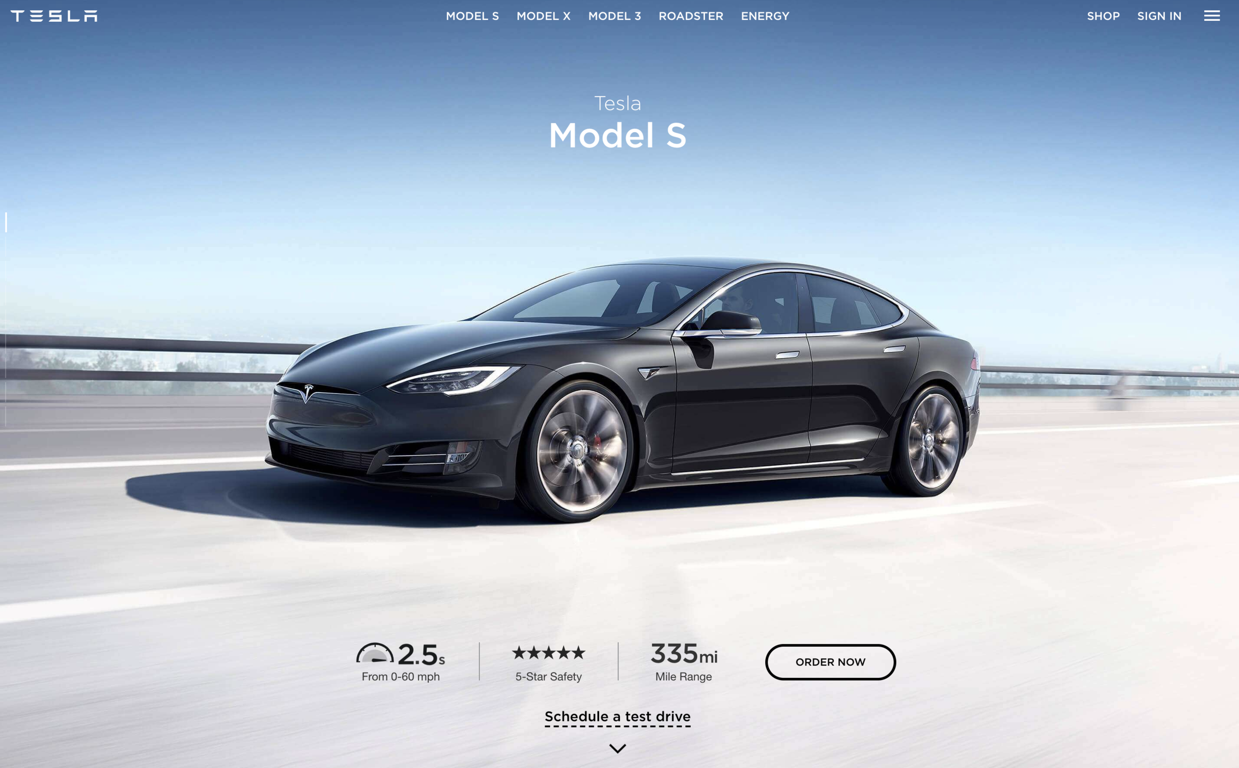 model s, simple and sexy. - it's a unique challenge, describing a car that speaks for itself. most of my storytelling here was uncovering the badass electric car that model s already is. [copy: full web page]