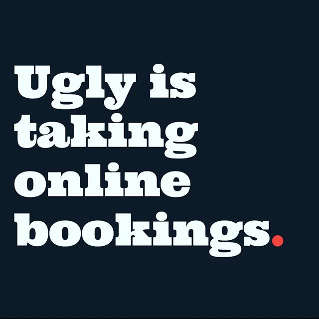 Forgot to rebook last visit? Trying to call and we are unavailable? Don't like talking on the phone? We've now got you covered with online bookings 👍🏼available now!  #theuglybarber #notsougly #canberra #canberrabarbers #onlinebooking