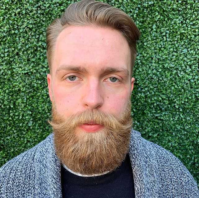 ALEC... fresh cut and beard trim at our #qtcanberra location. Hair by Jelena  #beardlove #beardtrim #barber #barbersofcanberra #menshairstyles #mensgrooming #canberrabarbers #barbershop #barberlife #theuglybarber #notsougly #newacton #hair #hairstyles #beardlife
