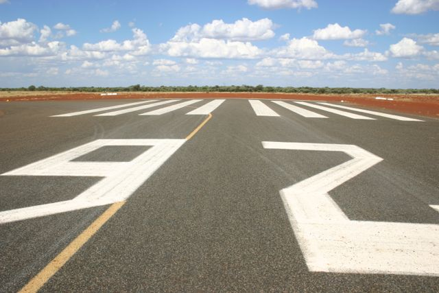 runway number
