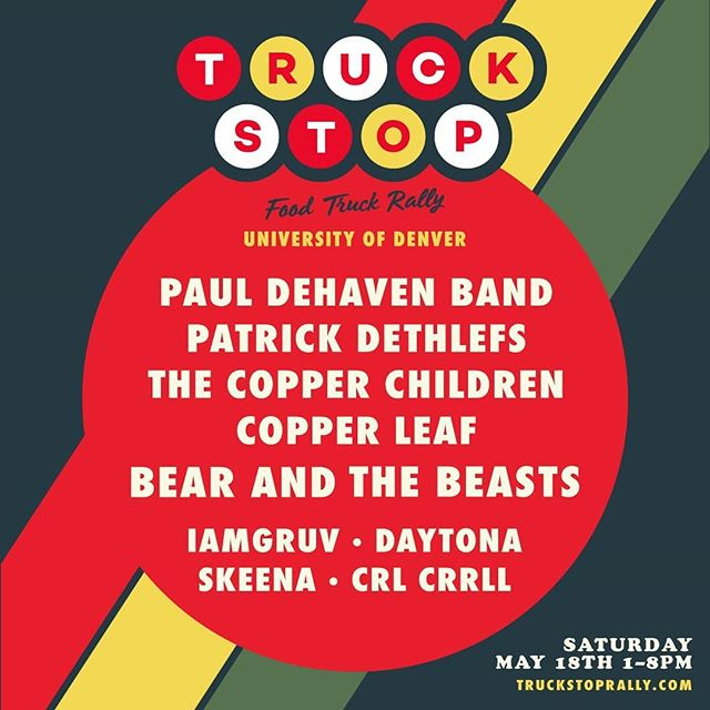 Happy to be playing this fun event at DU! @truckstoprally #copperthemedbands