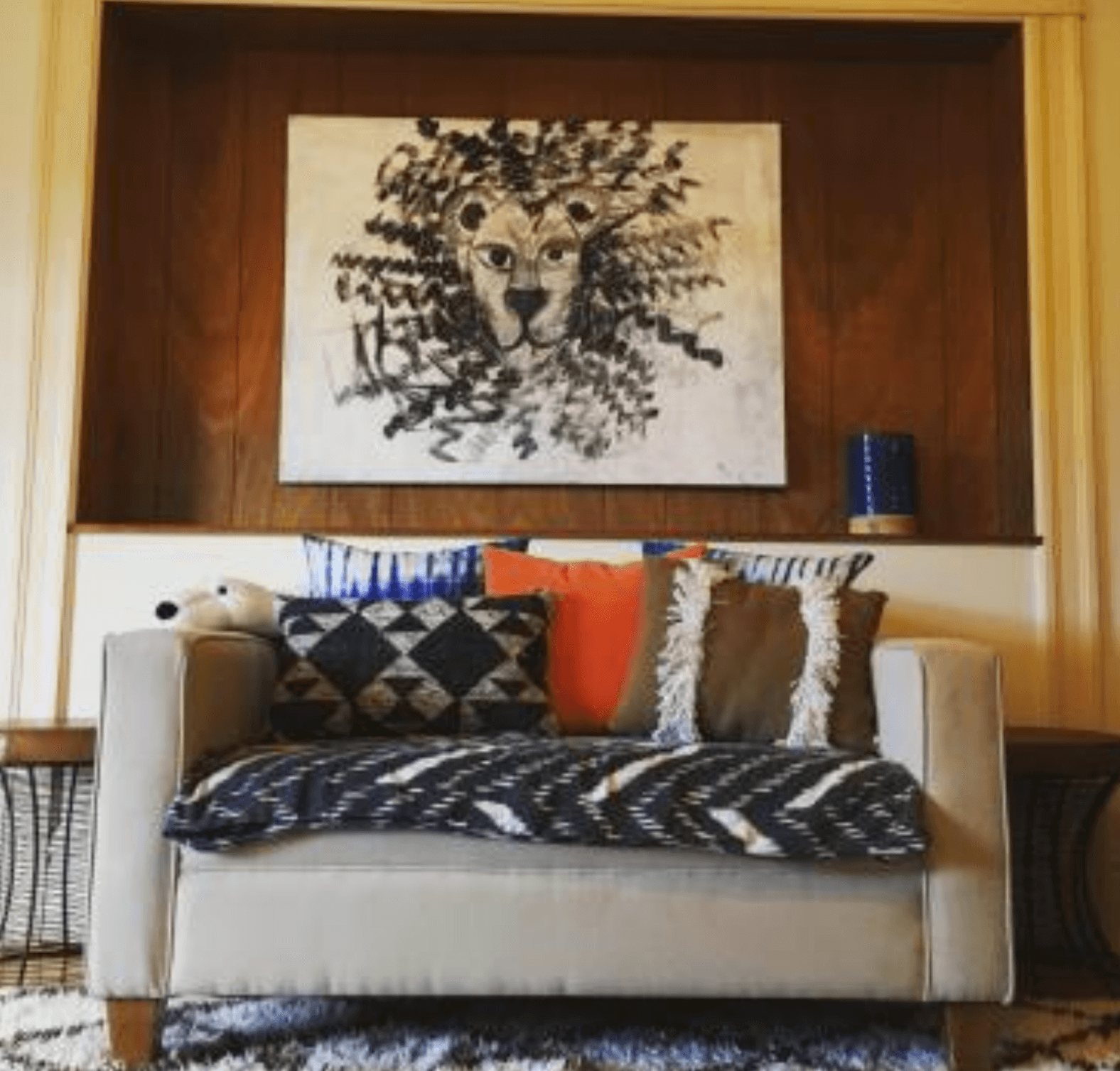 Bachelor Pad Sofa